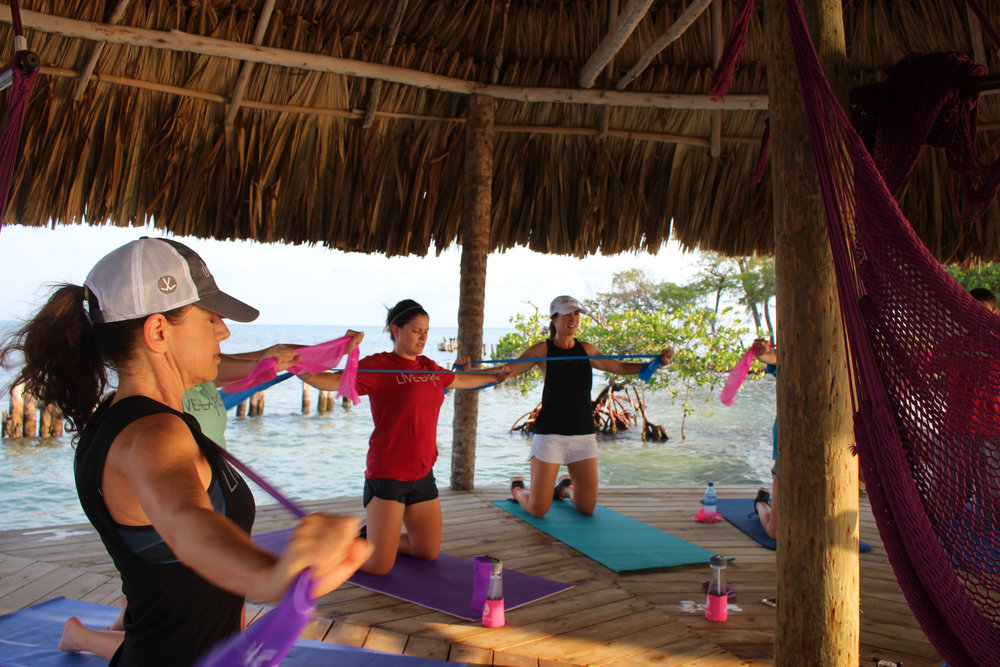 Thatch Caye Fitness Retreats  -