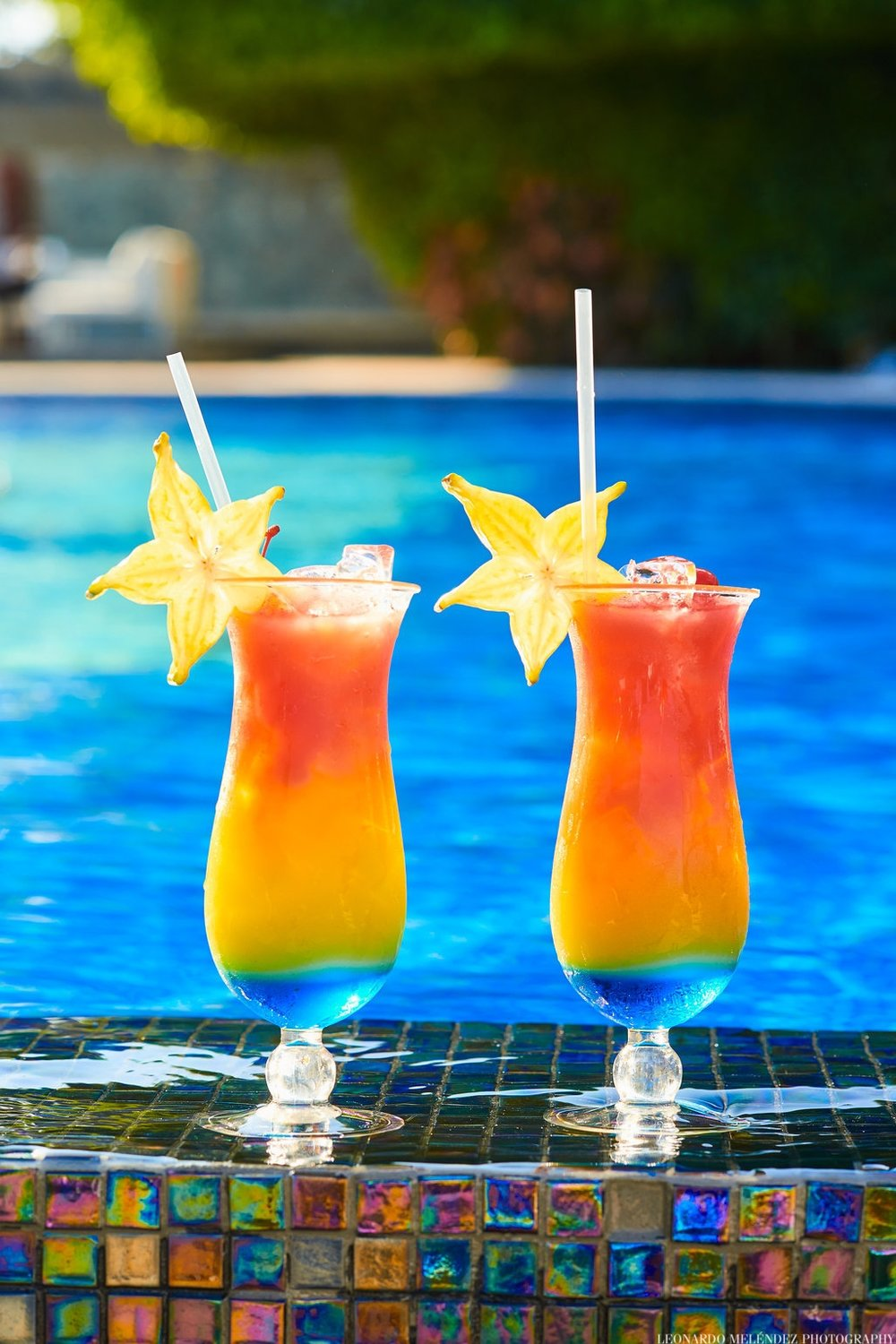 Welcome drink - There's nothing like walking up to your resort and immediately being handed a refreshing cocktail - completely free of charge. We want your vacation to get started right. Don't worry, we offer virgin cocktails too!