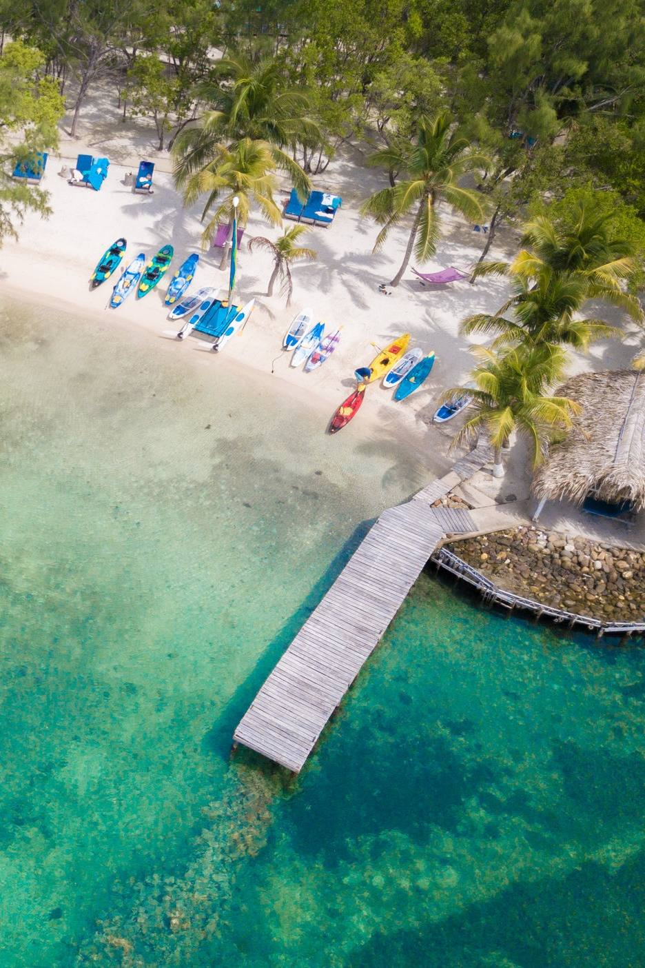 Thatch Caye Resort - Overwater bungalows and island adventures await
