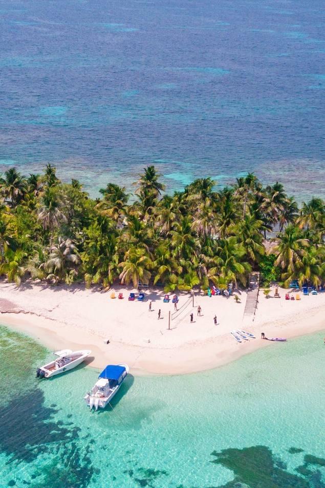 Ranguana Caye - Rustic island escape