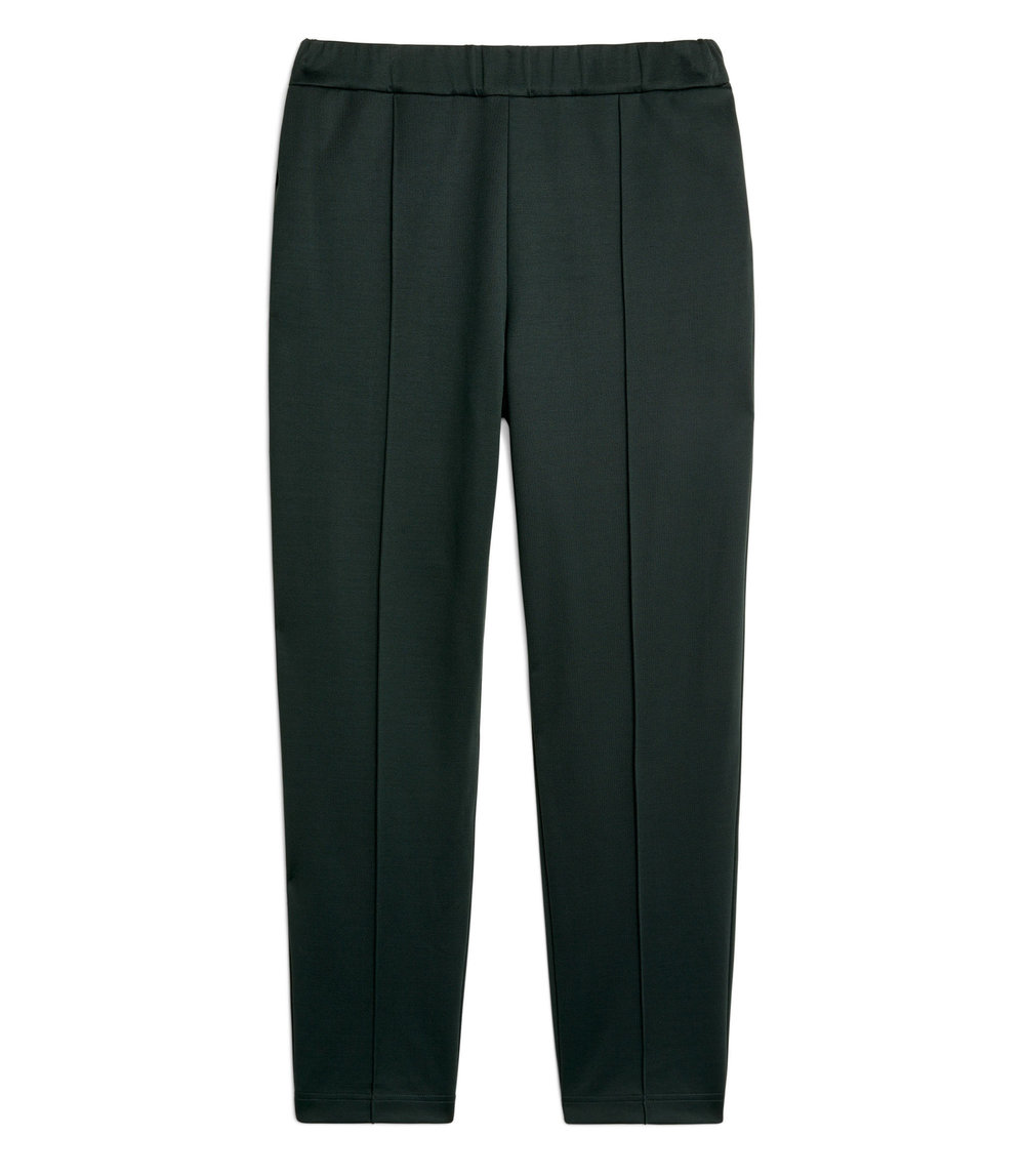 Tapered Pintuck Trousers |£55
