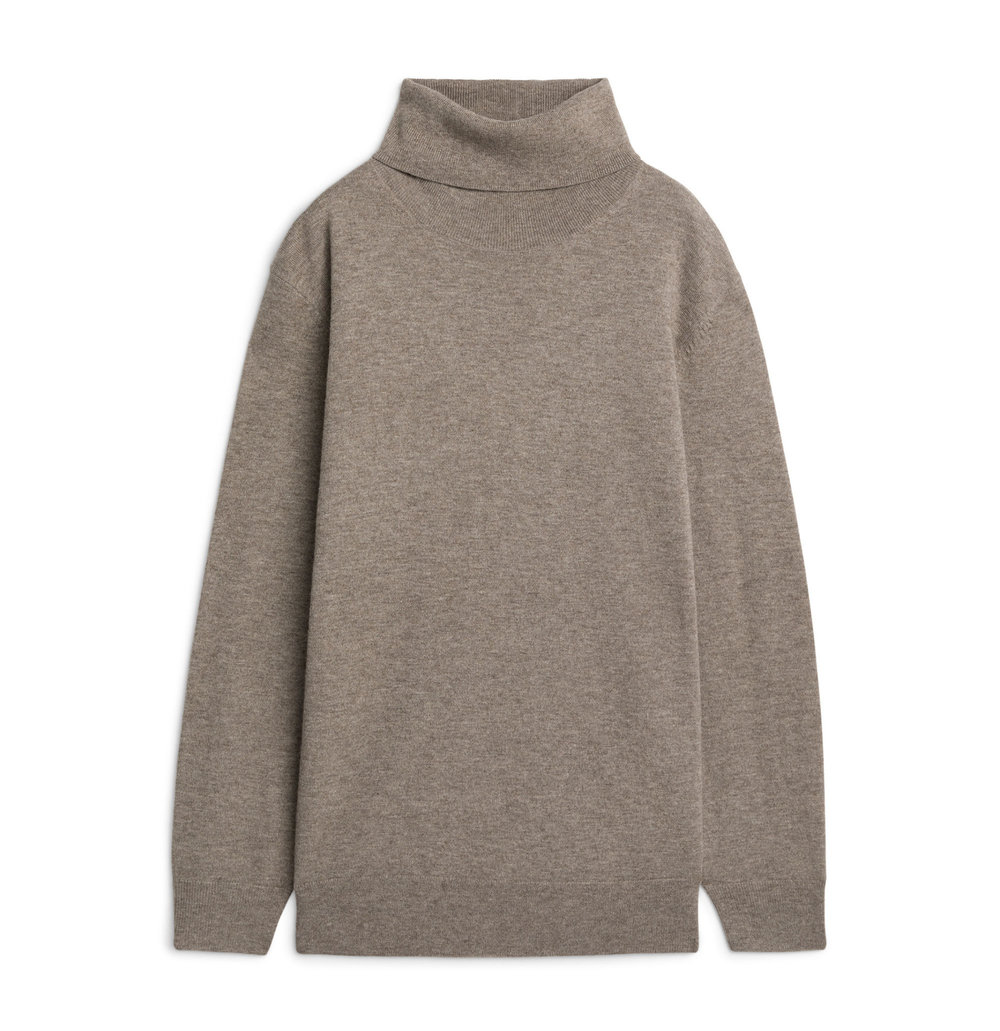 Wool and Yak Roll Neck Jumper |£69