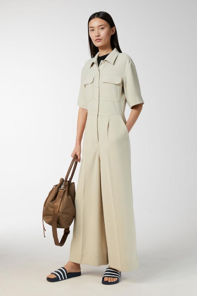 ARKET Crepe Boiler Suit | £68
