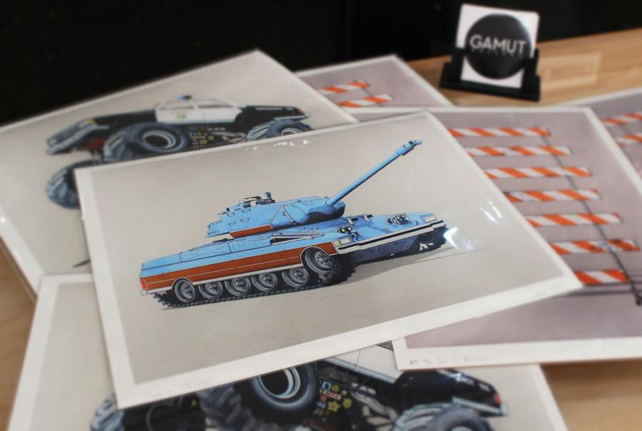 Archival inkjet prints