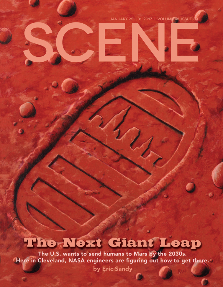 Cleveland Scene cover