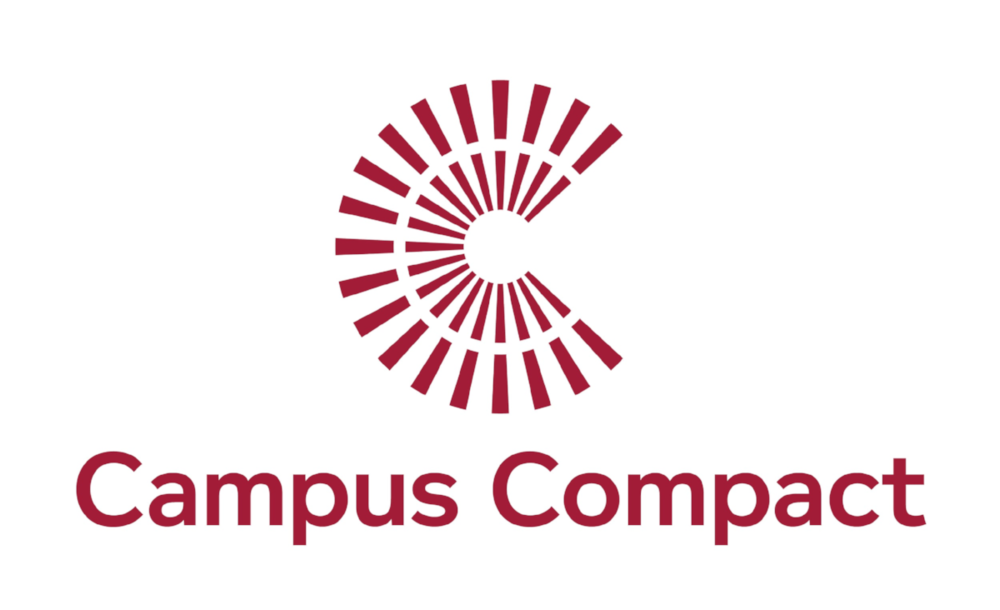 Campus Compact is a national coalition of nearly 1,100 colleges and universities committed to the public purposes of higher education. We are a network comprising a national office and 34 state and regional Campus Compacts. As the only national higher education association dedicated solely to campus-based civic engagement, Campus Compact enables campuses to develop students' citizenship skills and forge effective community partnerships. Our resources support faculty and staff as they pursue community-based teaching and scholarship in the service of postive change.