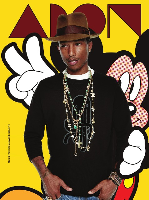 Adon - Magazine - Pharrell Williams - September Issue