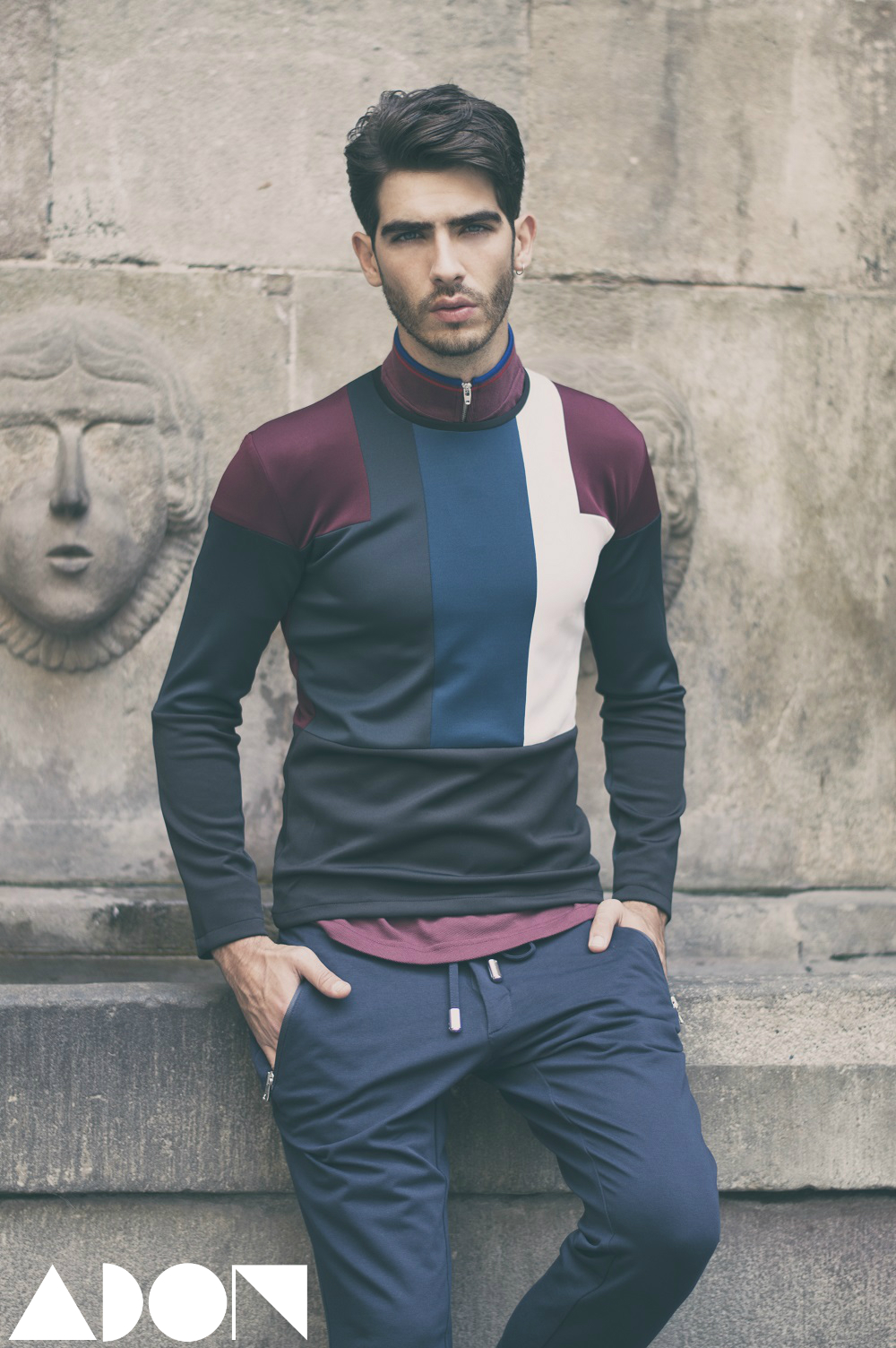 Polo: Fred Perry, Lycra shirt: Miquel Suay, Trousers: Guess by Marciano
