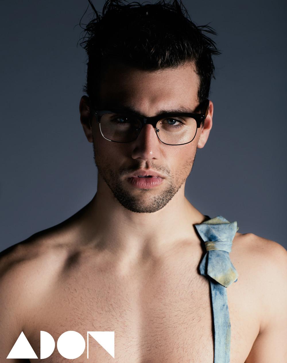Glasses: Prada, Bow Tie: Diesel