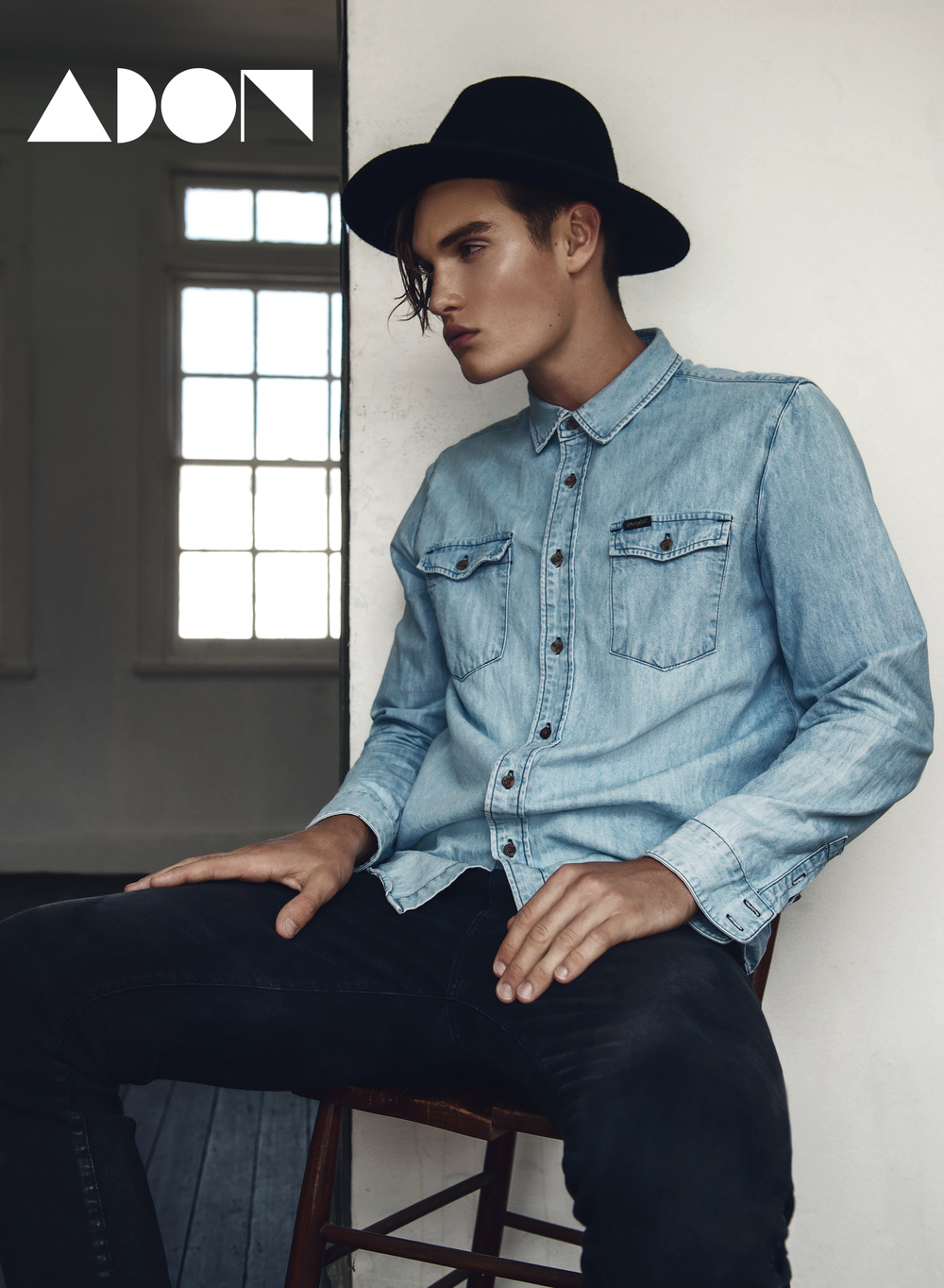 Shirt – Wrangler, Jeans – Nudie Jeans Co