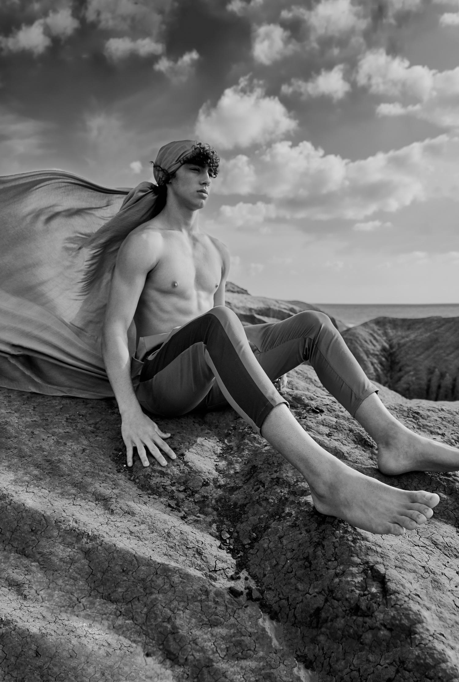 Adon Exclusive: Model Barak Shamir By Rachel Friedman