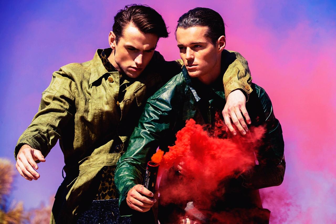 Adon Exclusive: Models Kyle Syrine & Jonathan Keith By Joe Simpson
