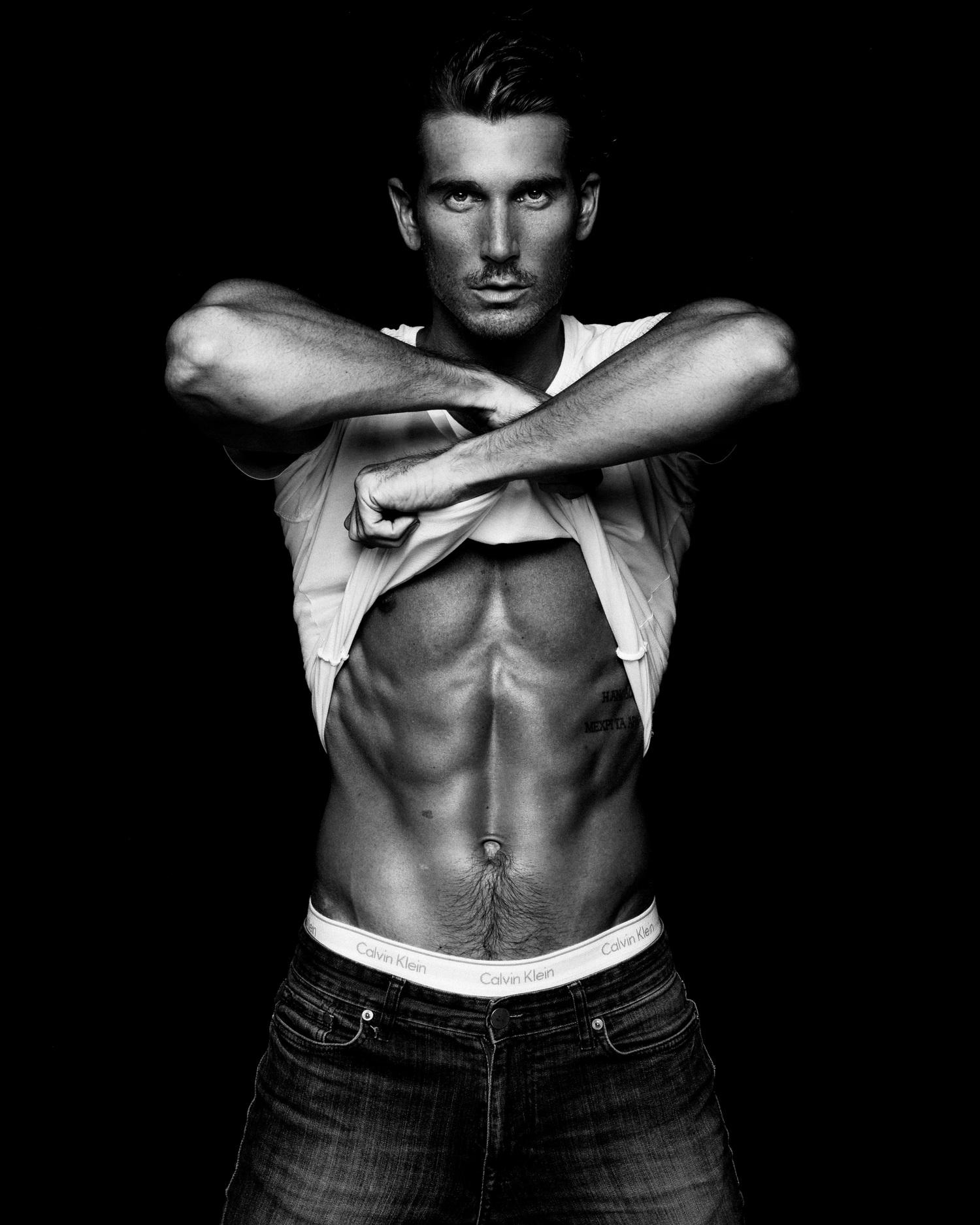 Adon Exclusive: Model Jacob Jon By Blake Ballard