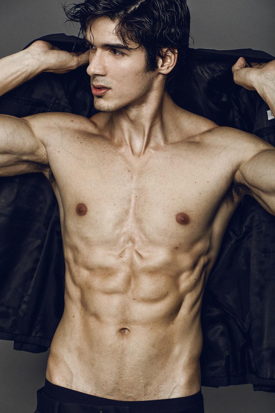 Adon Exclusive: Model Gabriel Fletcher  By Sergio Baia