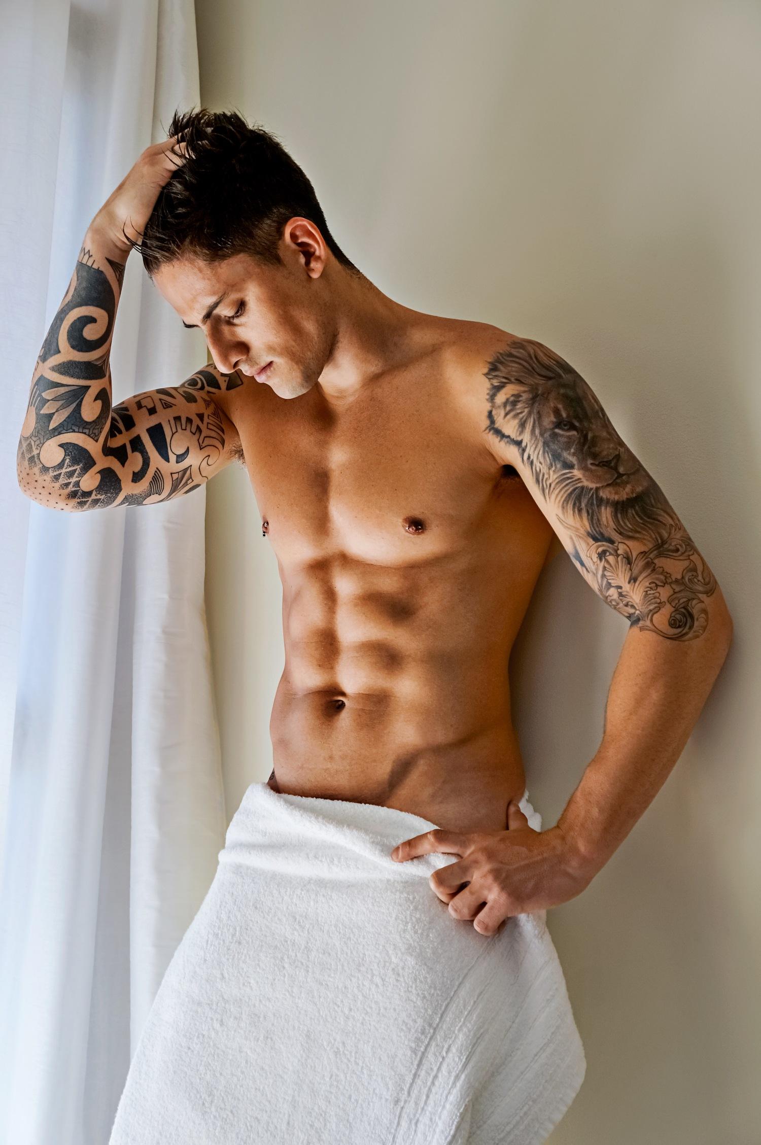 Adon Exclusive: Model Danilo Borgato By Mattheus Lian