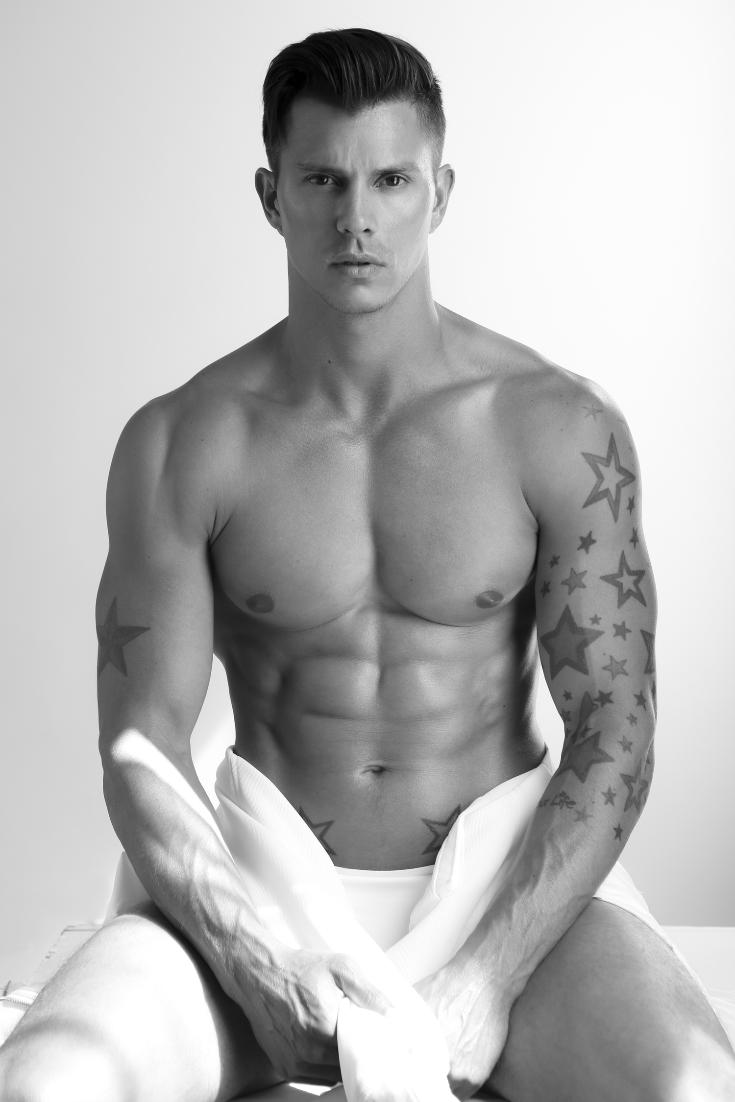 Adon Exclusive: Model Kenny Braasch By Michael Dar