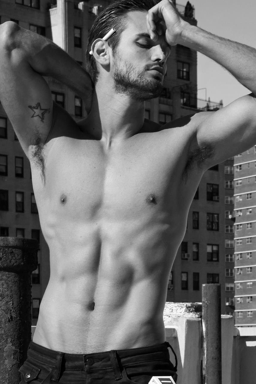 Adon Exclusive: Model Leonardo Corredor By Thomas Synnamon