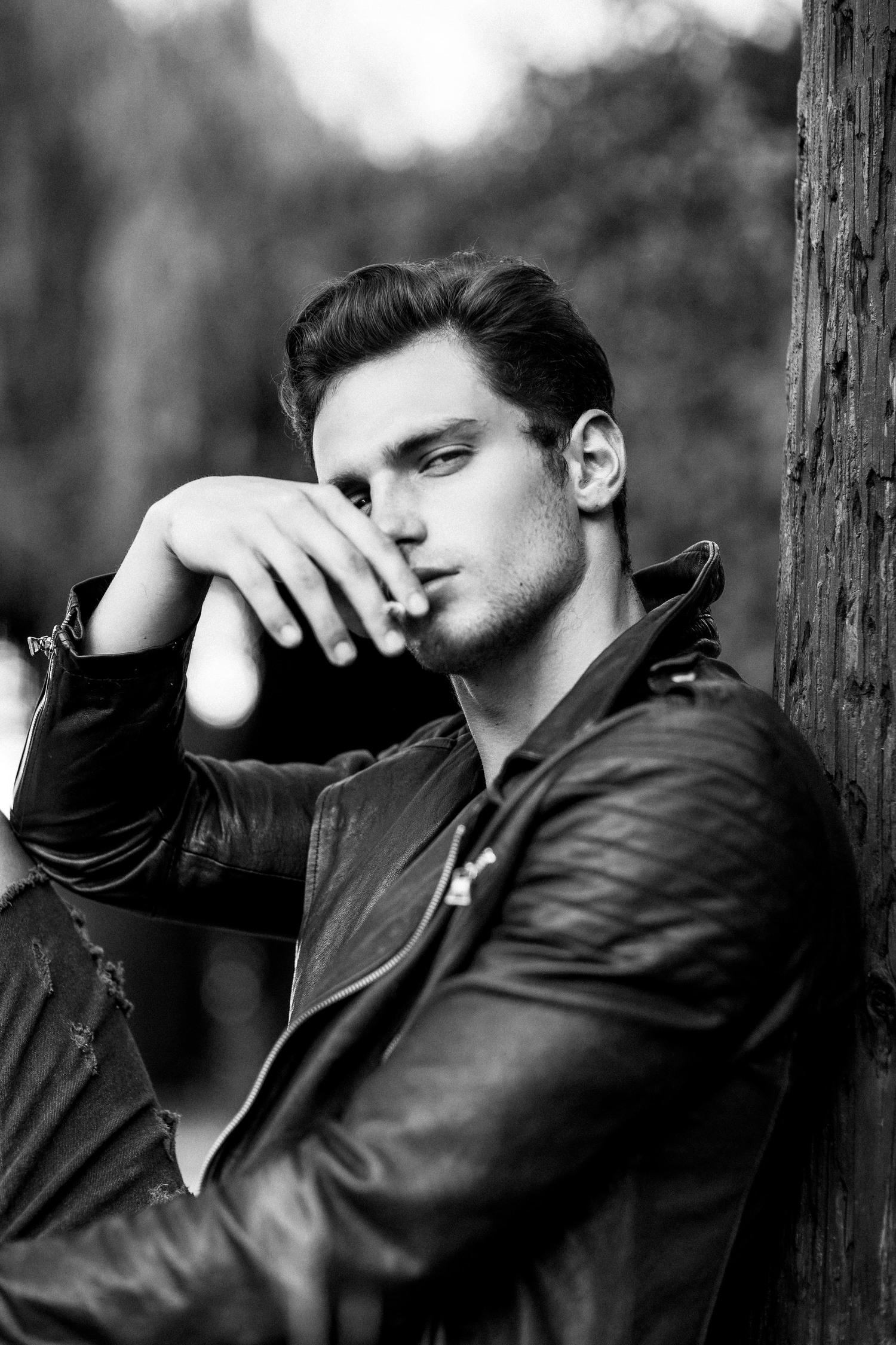 Adon Exclusive: Model Sven Rossa By Blake Ballard