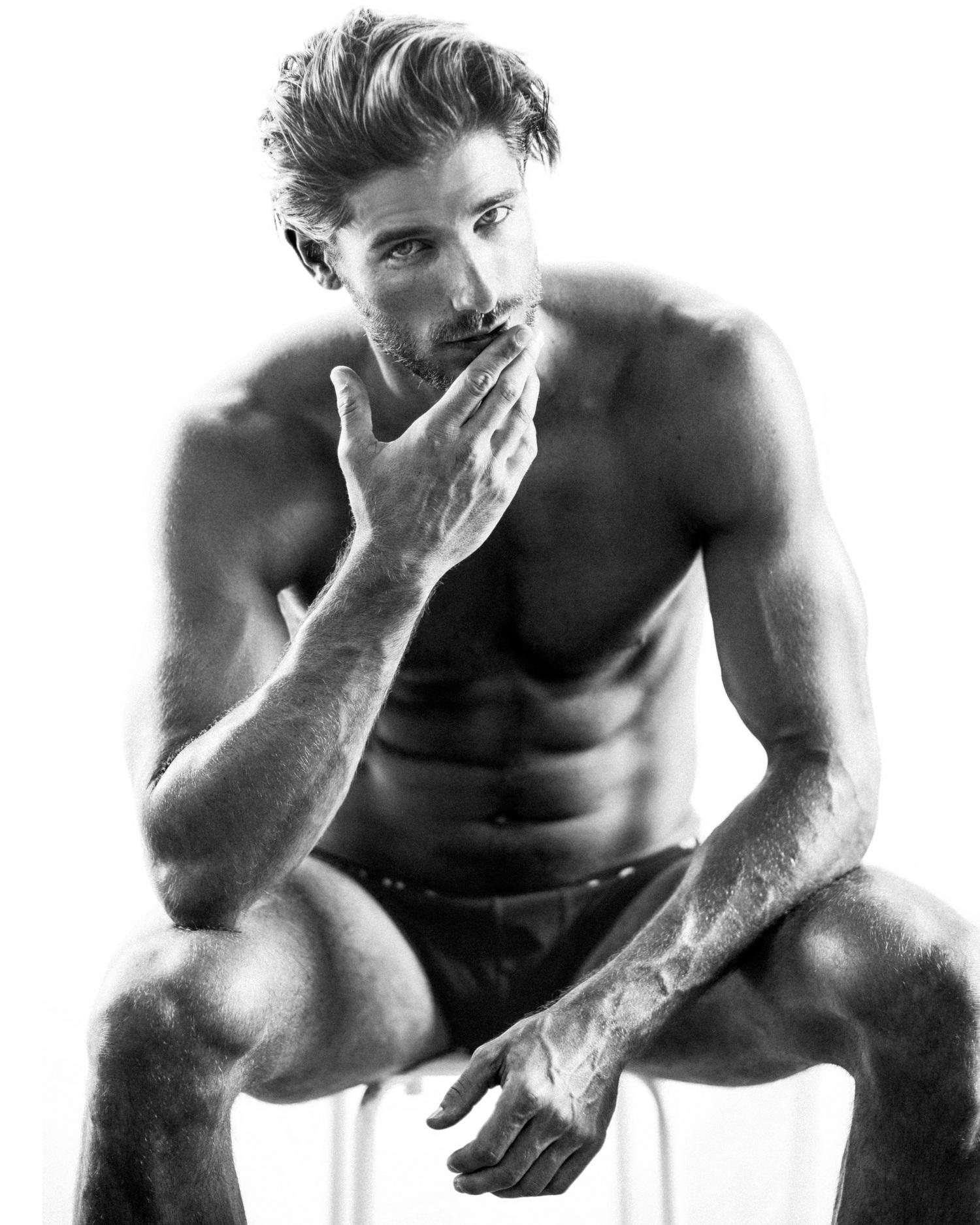 Adon Exclusive: Model Adam Nicklas By Blake Ballard