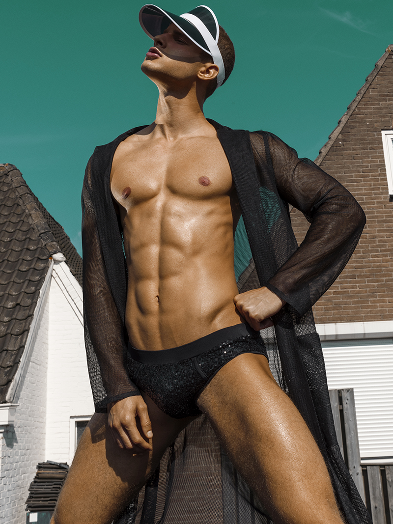 Adon Exclusive: Models Romano Oijans, Quincy Currie, Tim Haije & Tim van Riel  By Manny Fontanilla