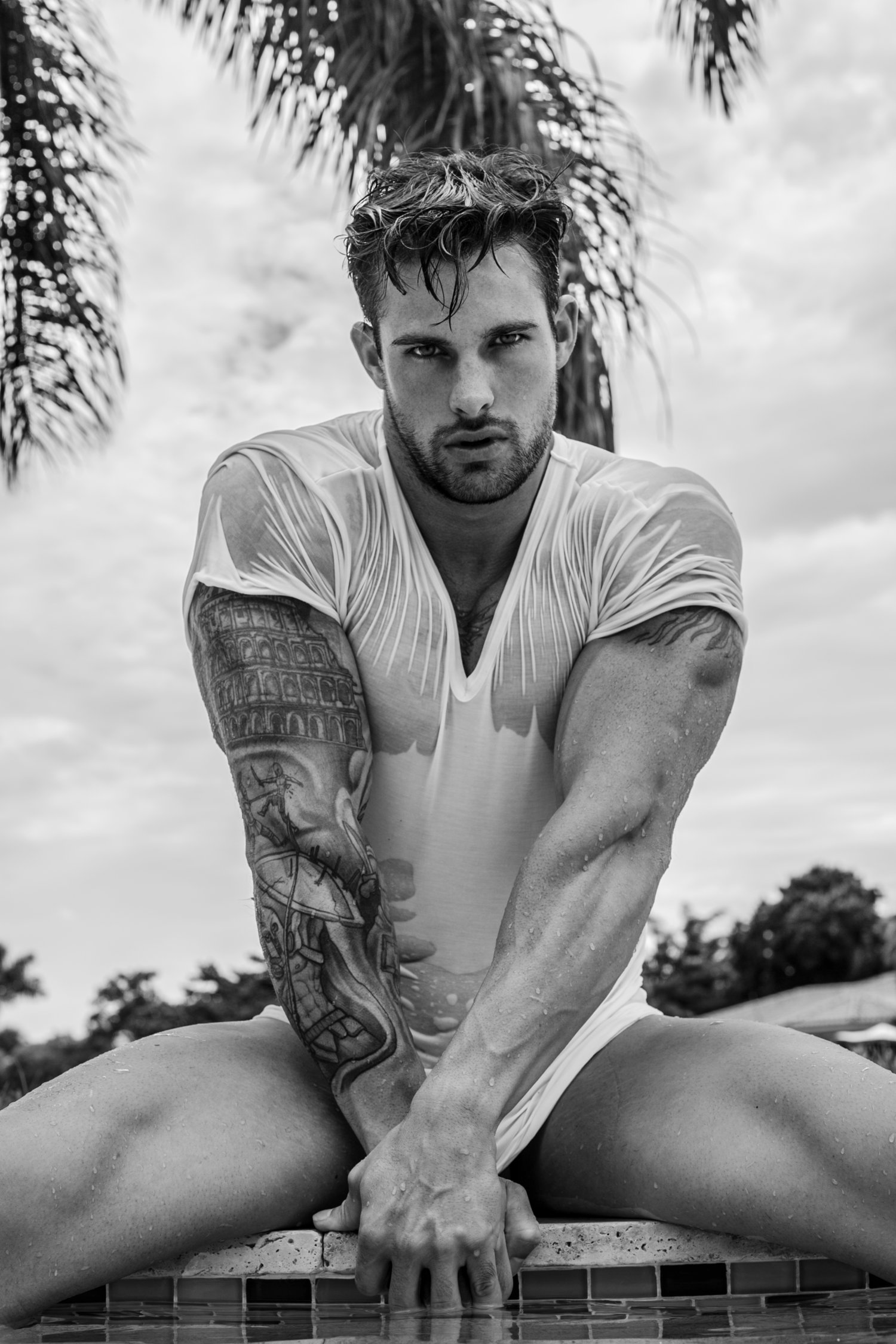 Adon Exclusive: Model Johnny Kane By Tom Saint Clair