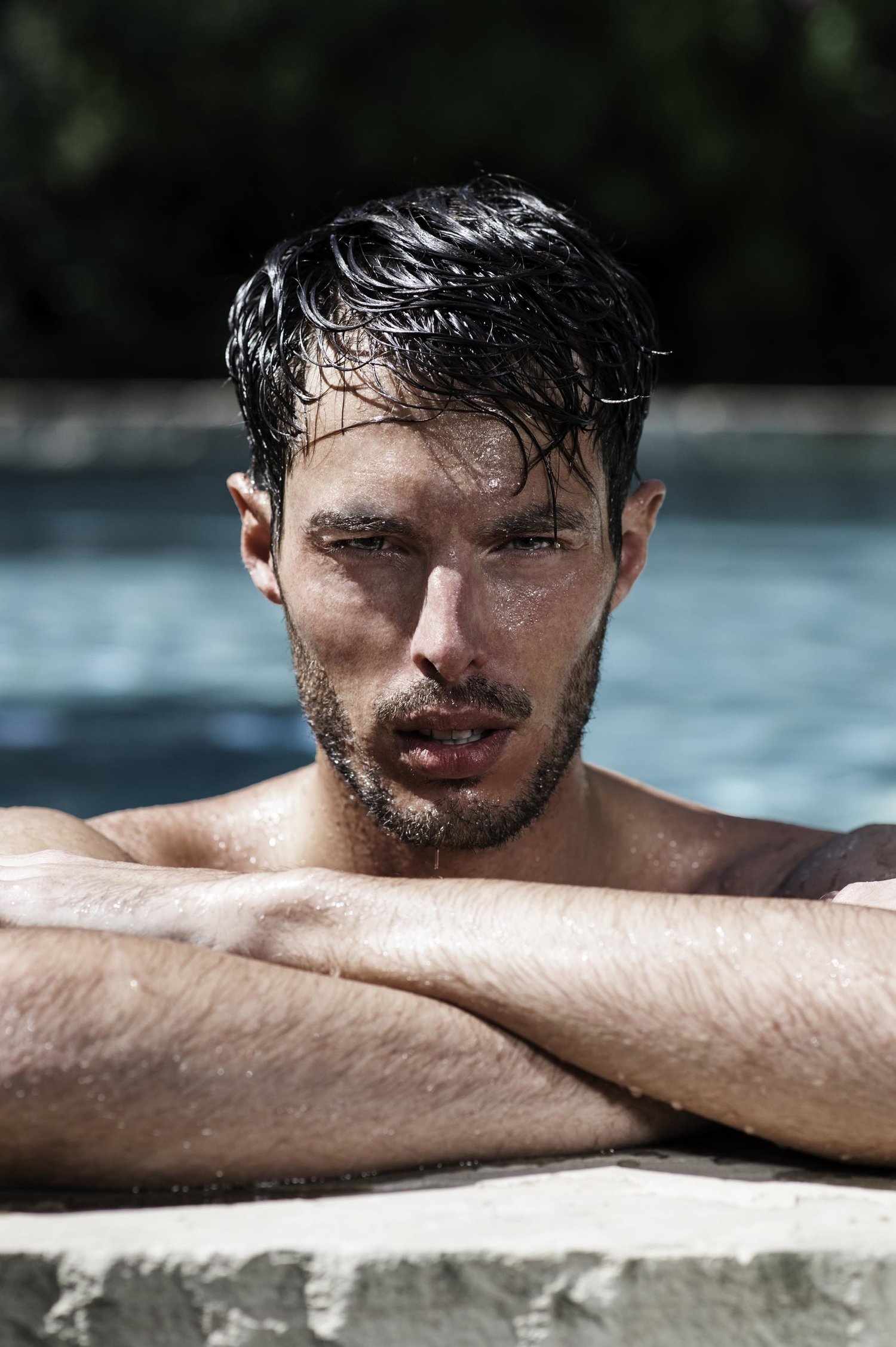 Adon Exclusive: Model Benjamin Isman By Gabriel Quartino
