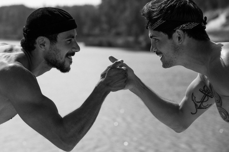 Adon Exclusive: Models KEVIN DRELON and Nabil TALEB  By Fabio ANASTACIO