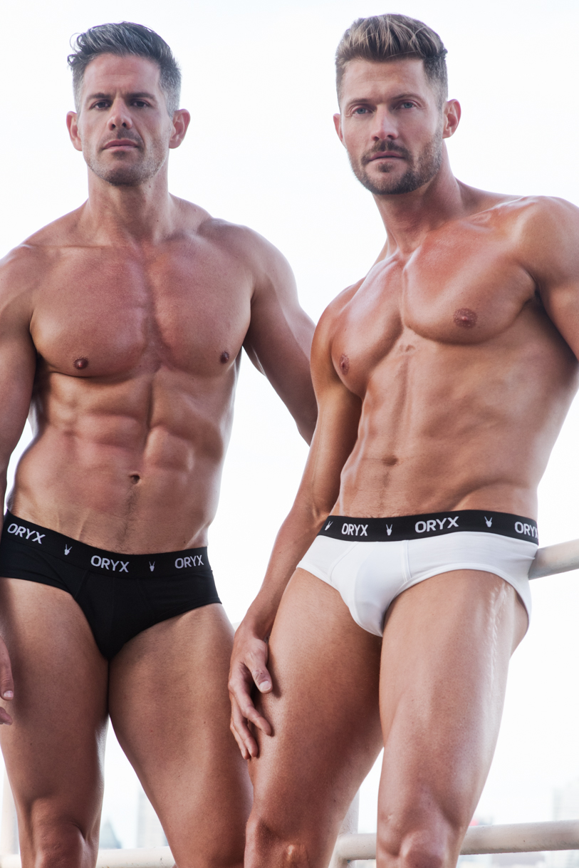 Adon Exclusive: Models Eric Turner and and Morne Coetzer By Frank Louis