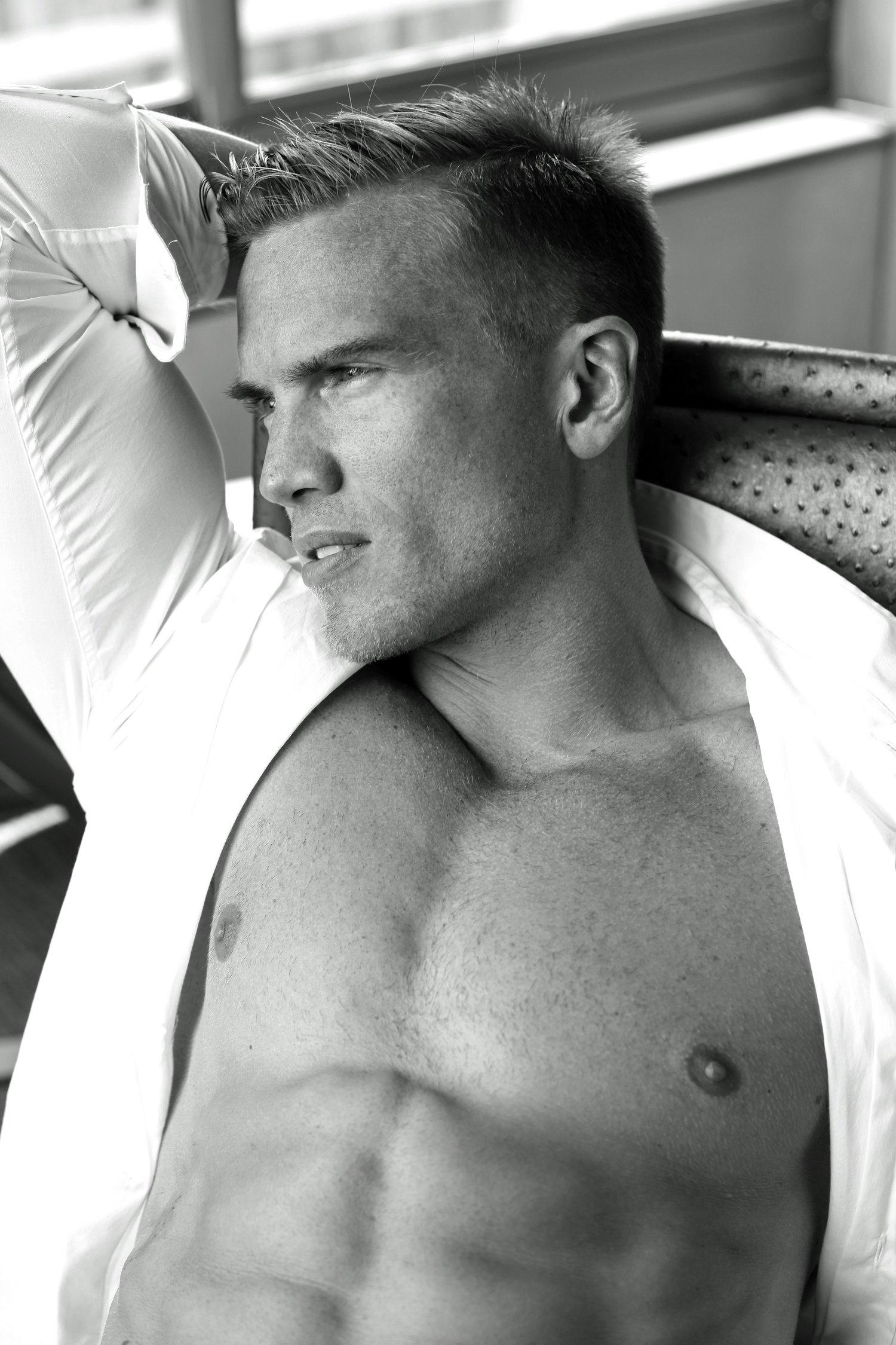 Adon Exclusive: Model Adam Fletcher By Thomas Synnamon