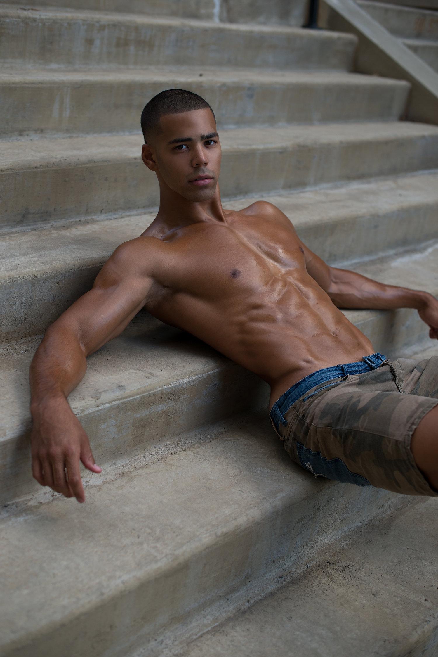 Adon Exclusive: Model Brandon Day By Frank Marando