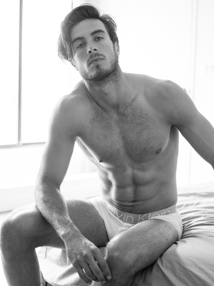 Adon Exclusive: Model Guy Macchia By Frank Louis