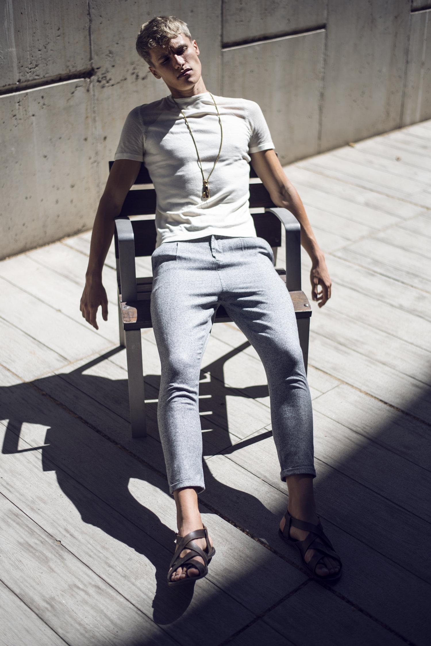Adon Exclusive: Model Oliver van Veen By Christoffer Wiklöw