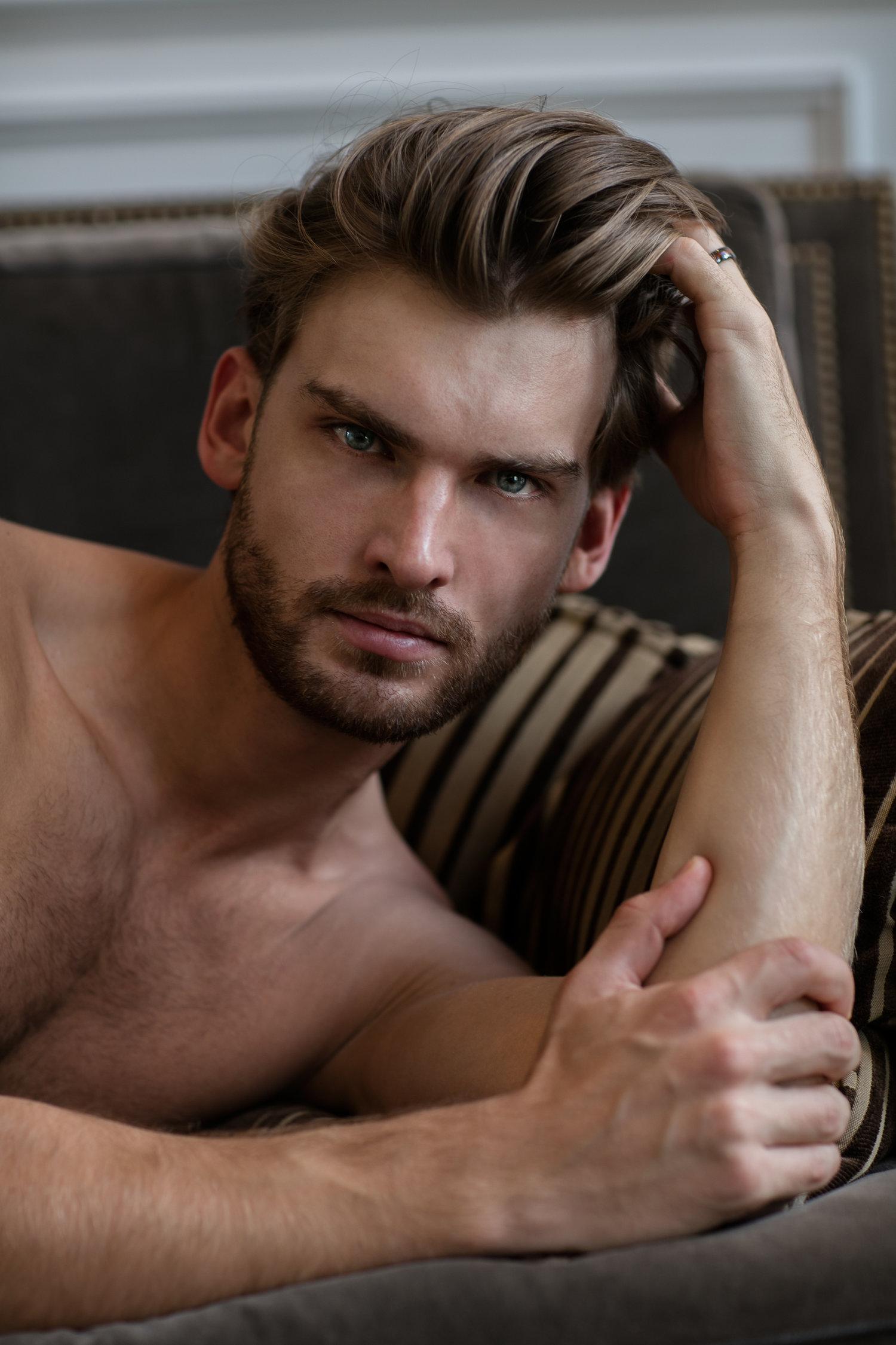 Adon Exclusive: Model Mario Skaric By Tom Saint Clair