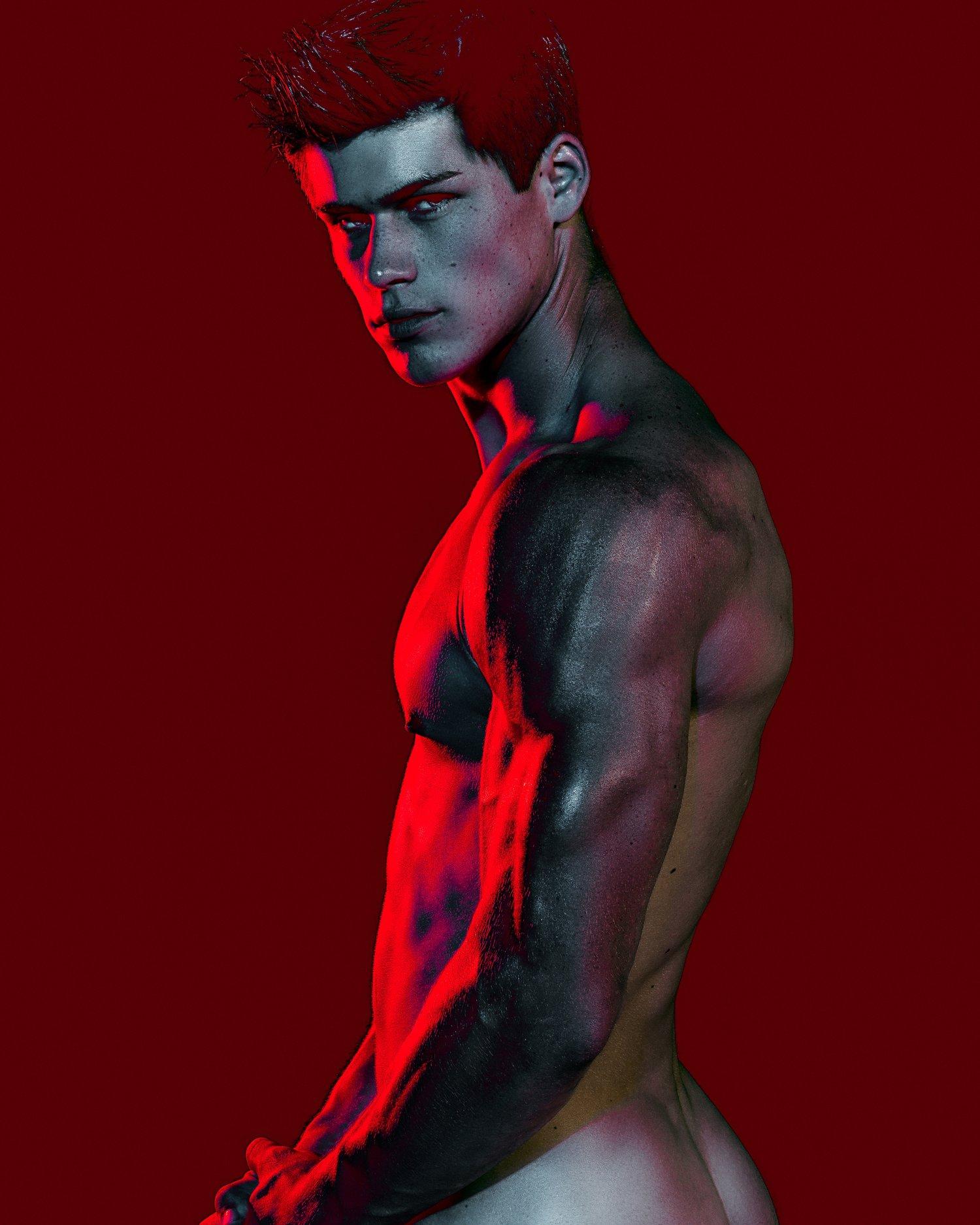 Adon Exclusive: Model Carson Aldridge By Blake Ballard