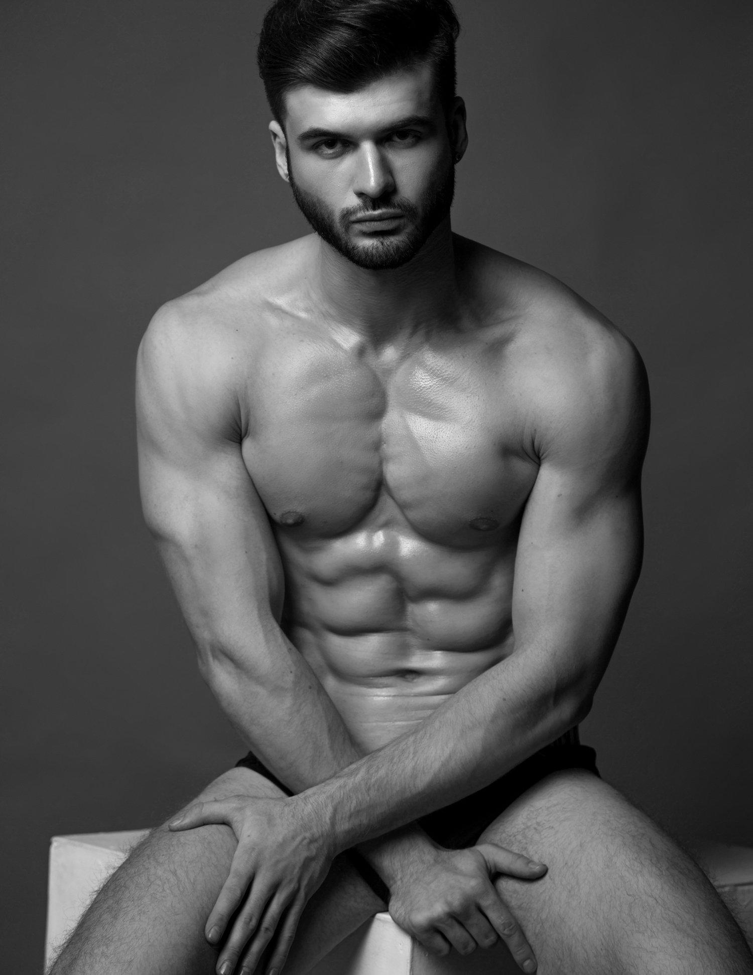 Adon Exclusive: Model Vlad Kartamishev By Savinov Alexey