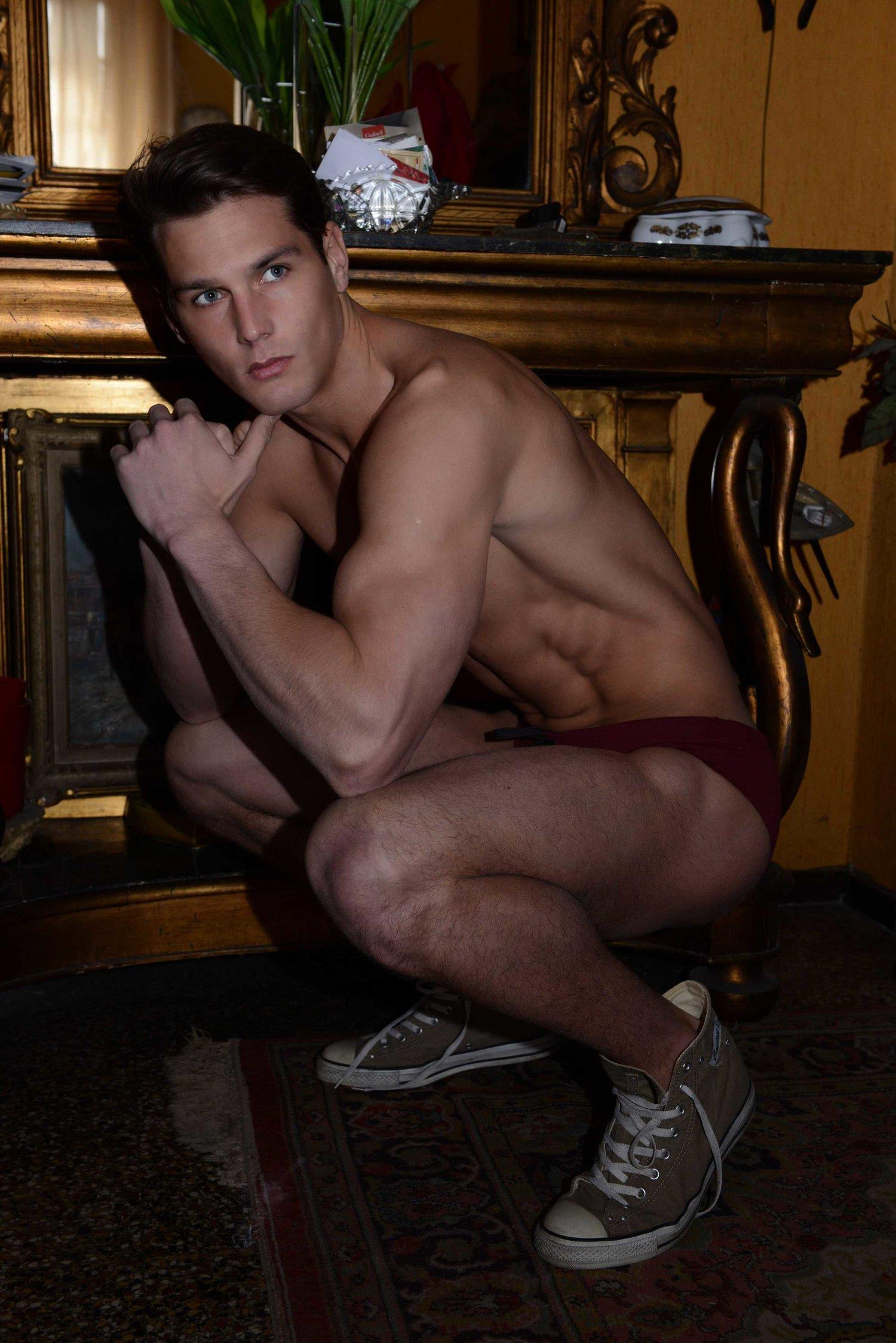Adon Exclusive: Model Chris Walsh By Max Festari
