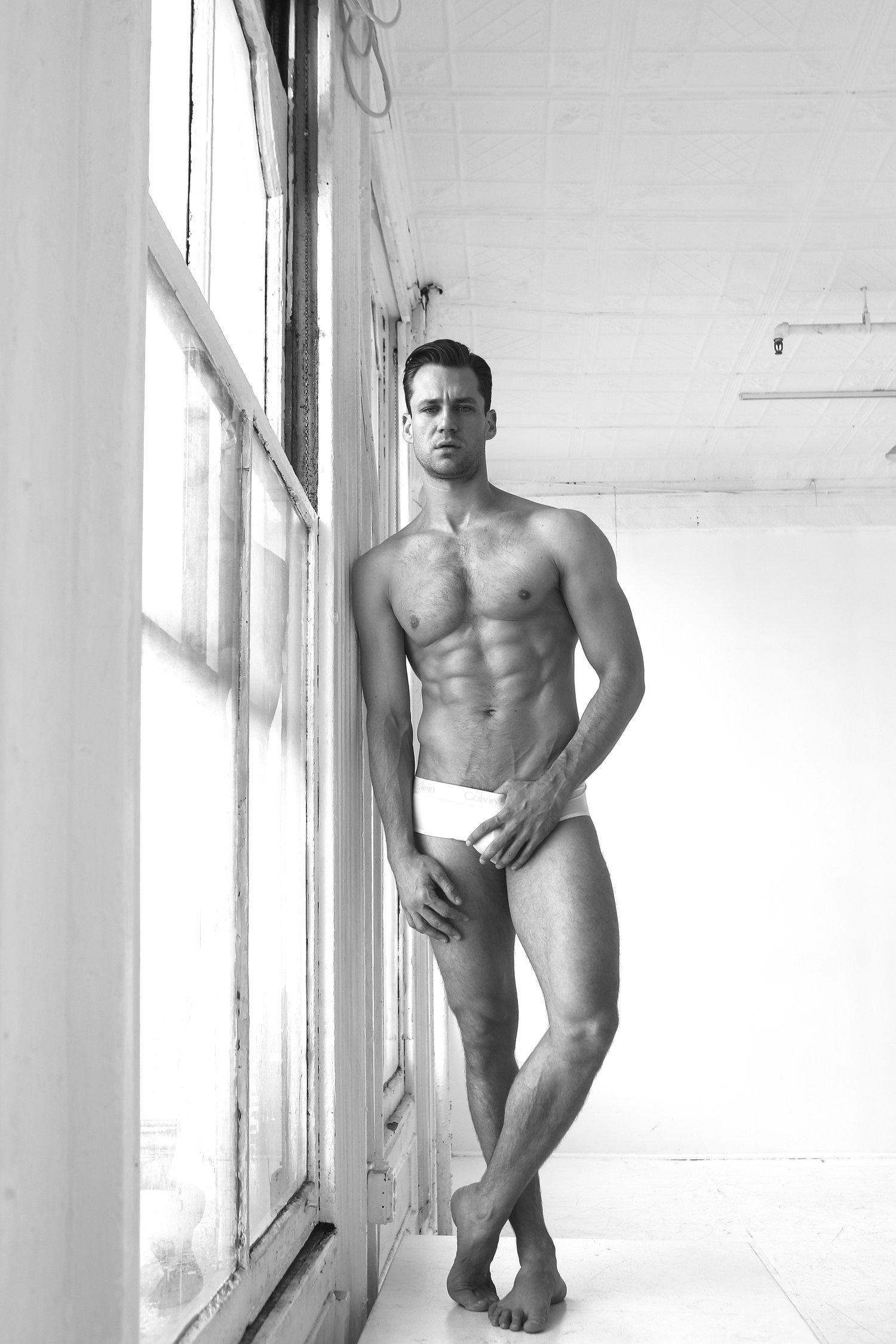 Adon Exclusive: Model Nicholas Cunningham By Michael Dar