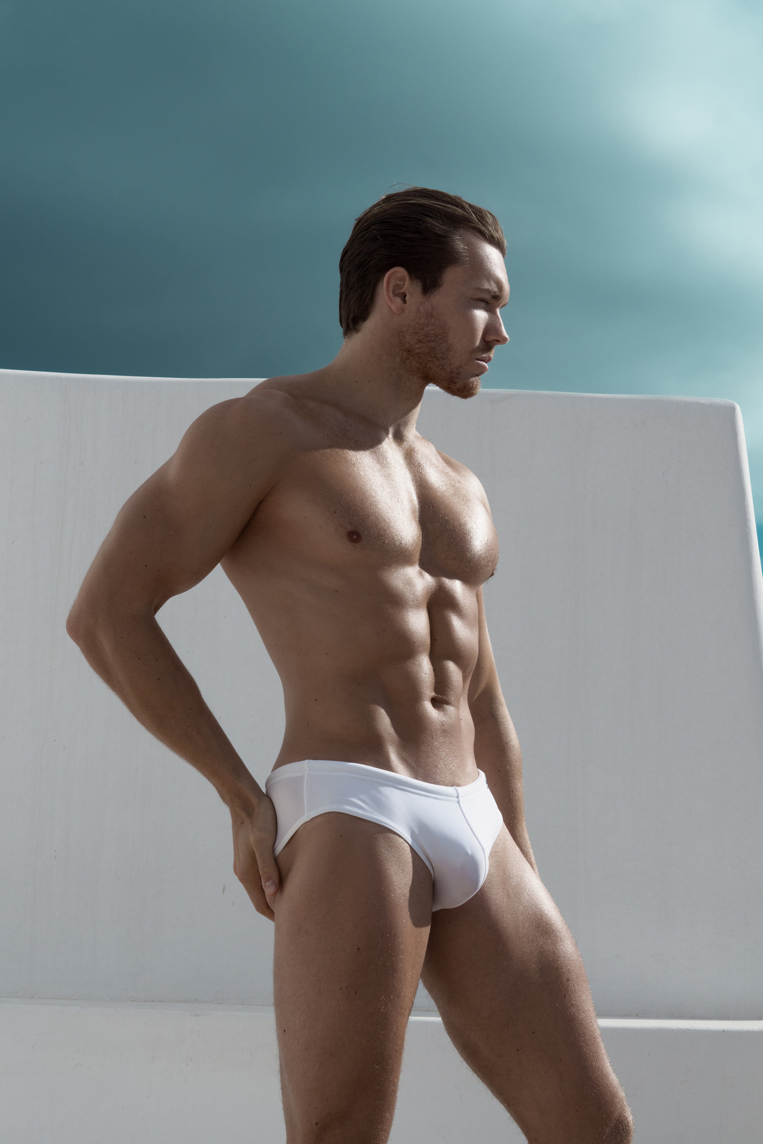 Adon Exclusive: Model Samuel Rason By Chesterfield Hector