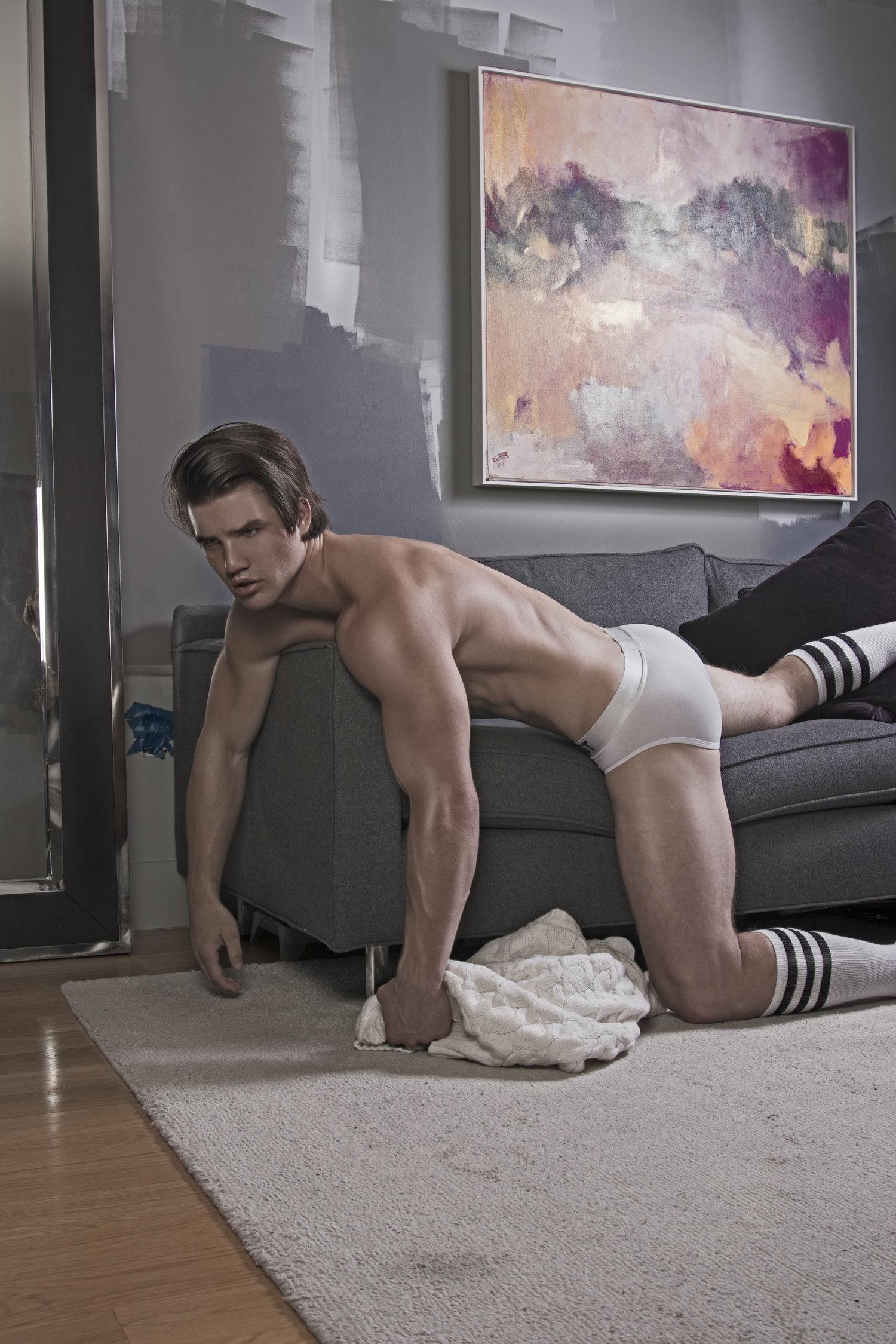 Adon Exclusive: Model Sean Alexander By Viktor Klimenko