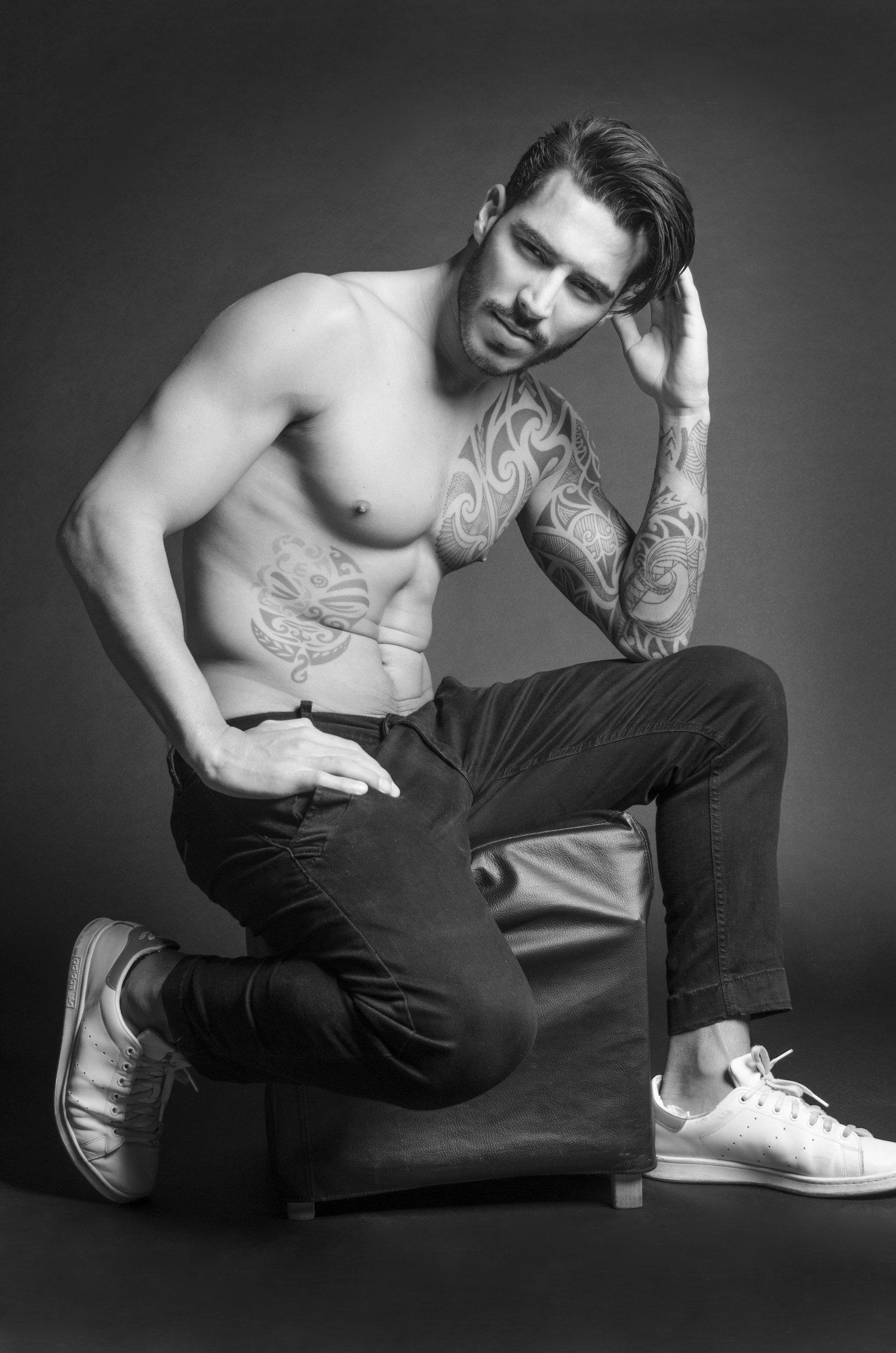 Adon Exclusive: Model Paulo Philippe By Margarida Cautela