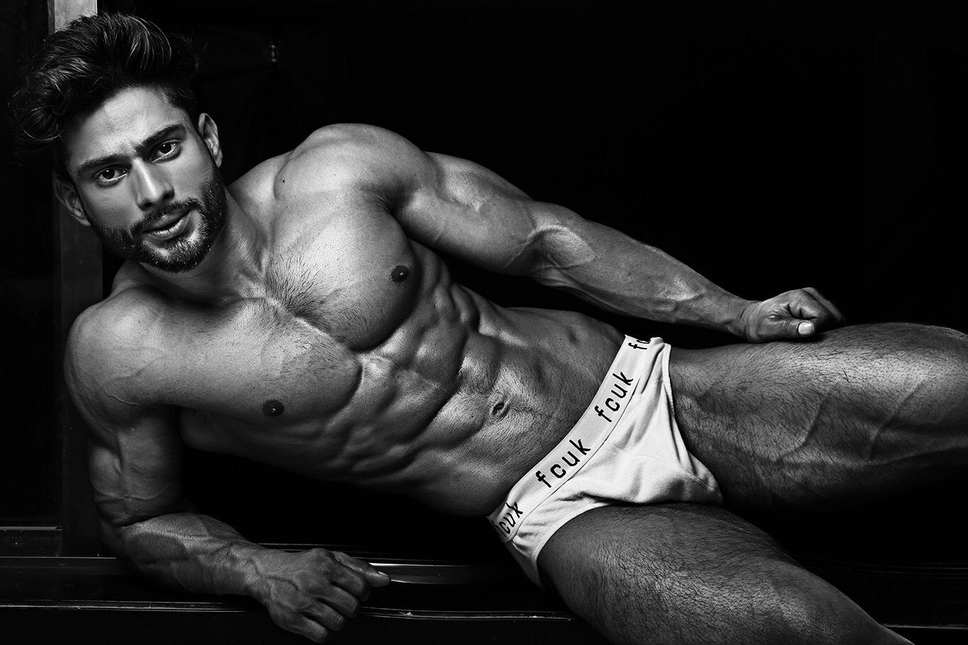 Adon Exclusive: Model Vipin Rathore By Sayan Sur Roy