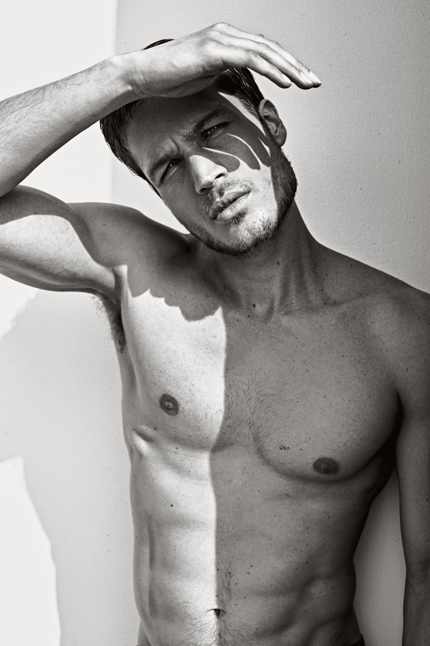 Adon Exclusive: Model Damian Licheri By Vicente Mosto