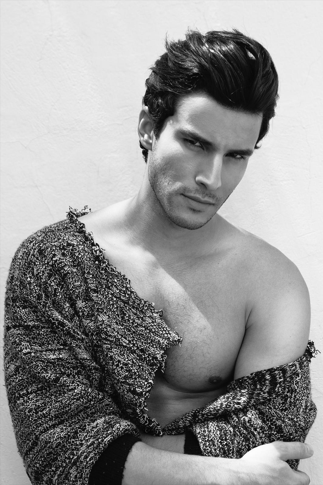 Adon Exclusive: Model Renato Freitas By Rafael Manson