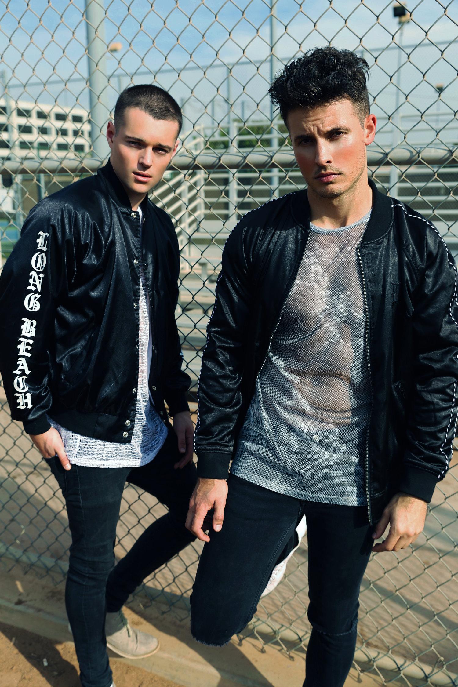 Adon Exclusive: Models Kyle Sarine and Jake mast  By Logan Noh