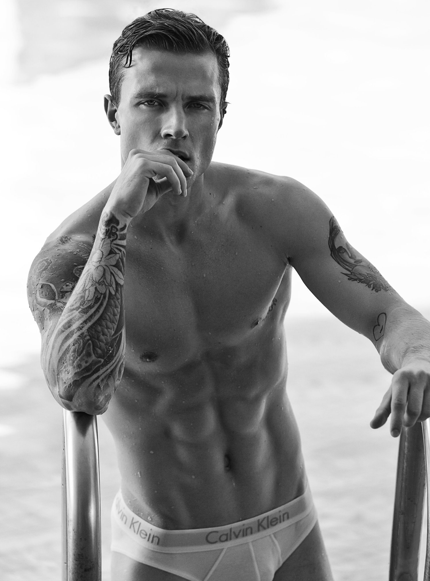 Adon Exclusive: Model Antoni Bialy By Jason Oung