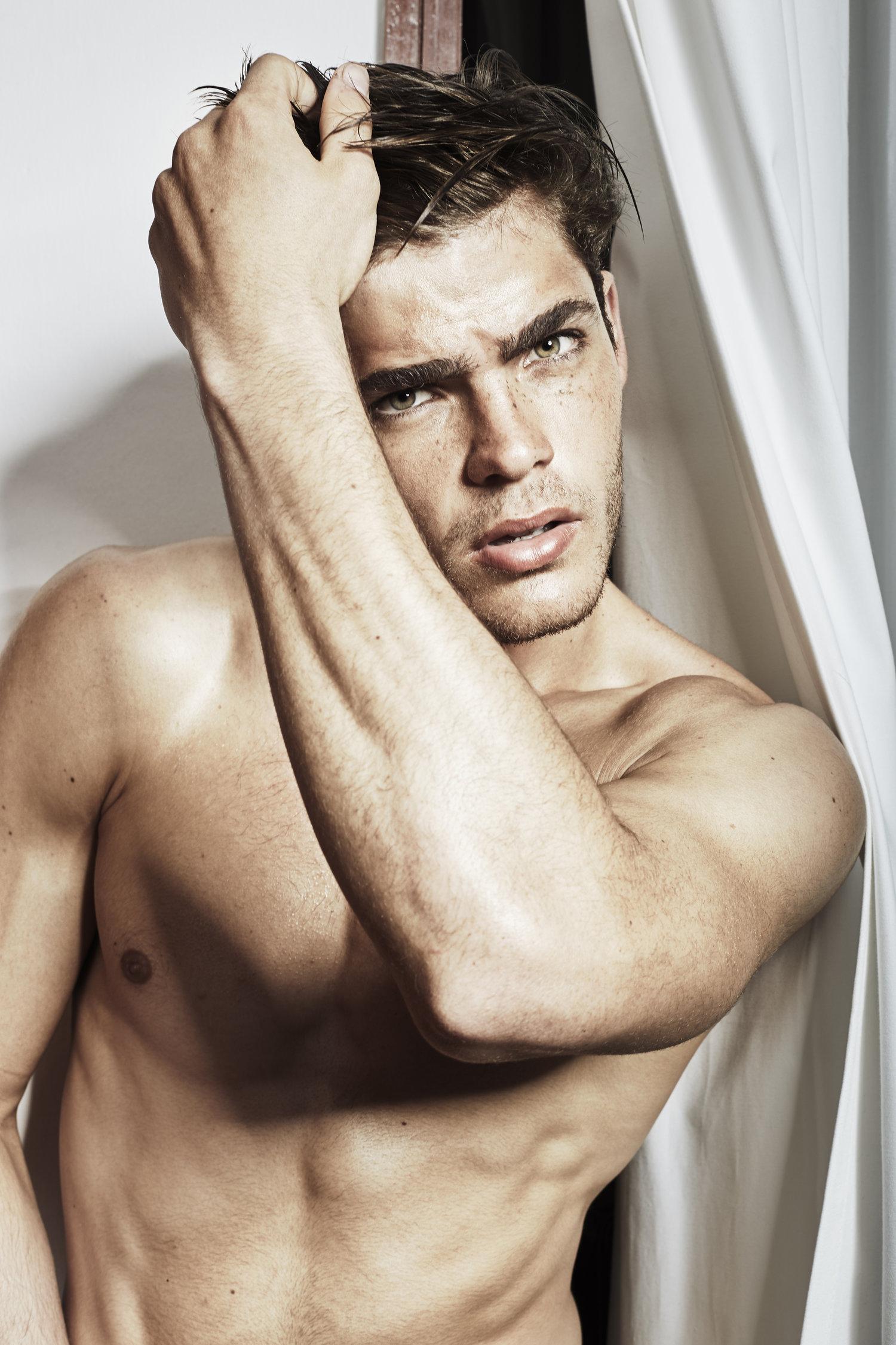 Adon Exclusive: Model Johan Bruinsma By Vicente Mosto