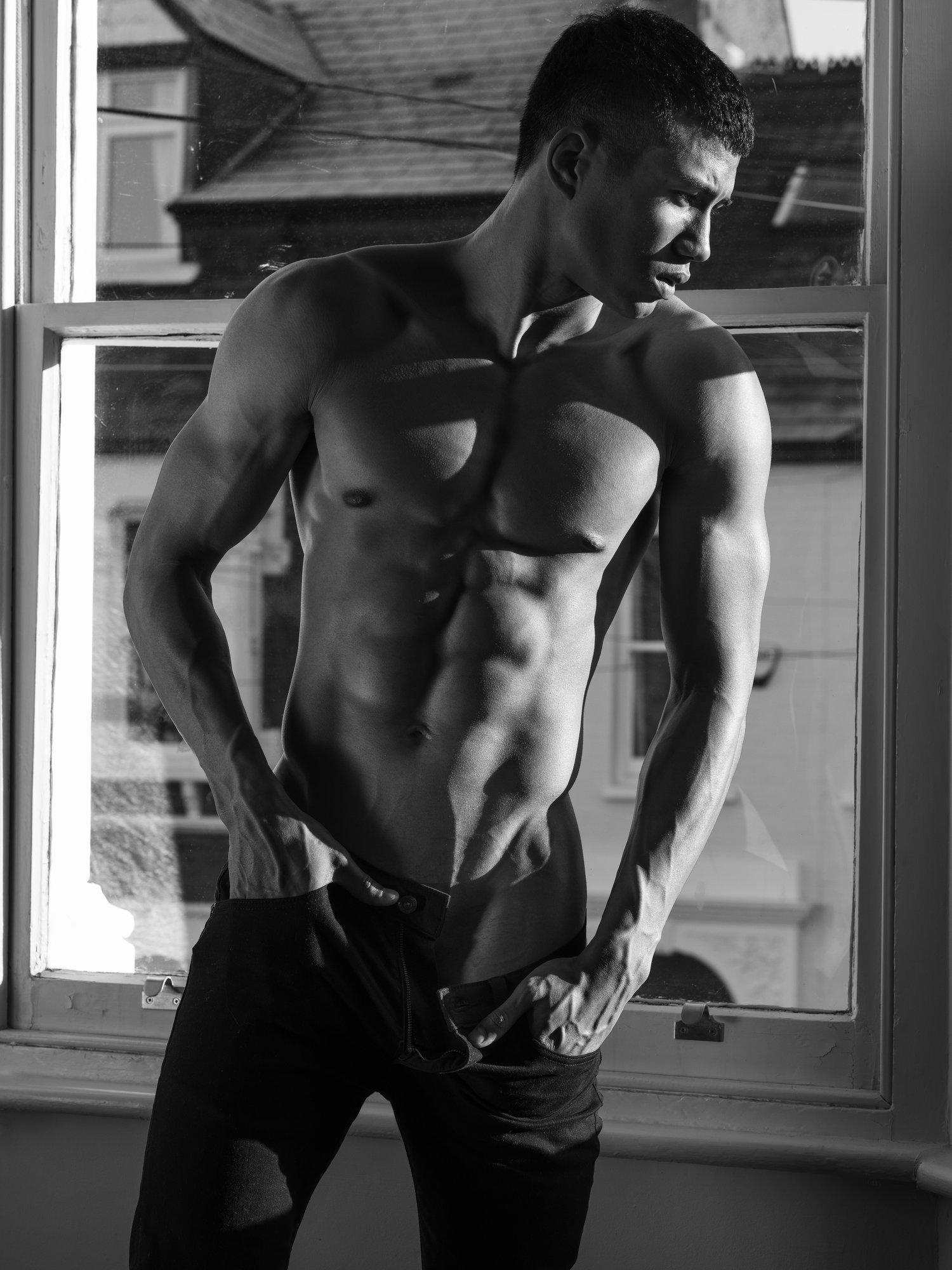 Adon Exclusive: Model Christian Bordin By Wong Sim