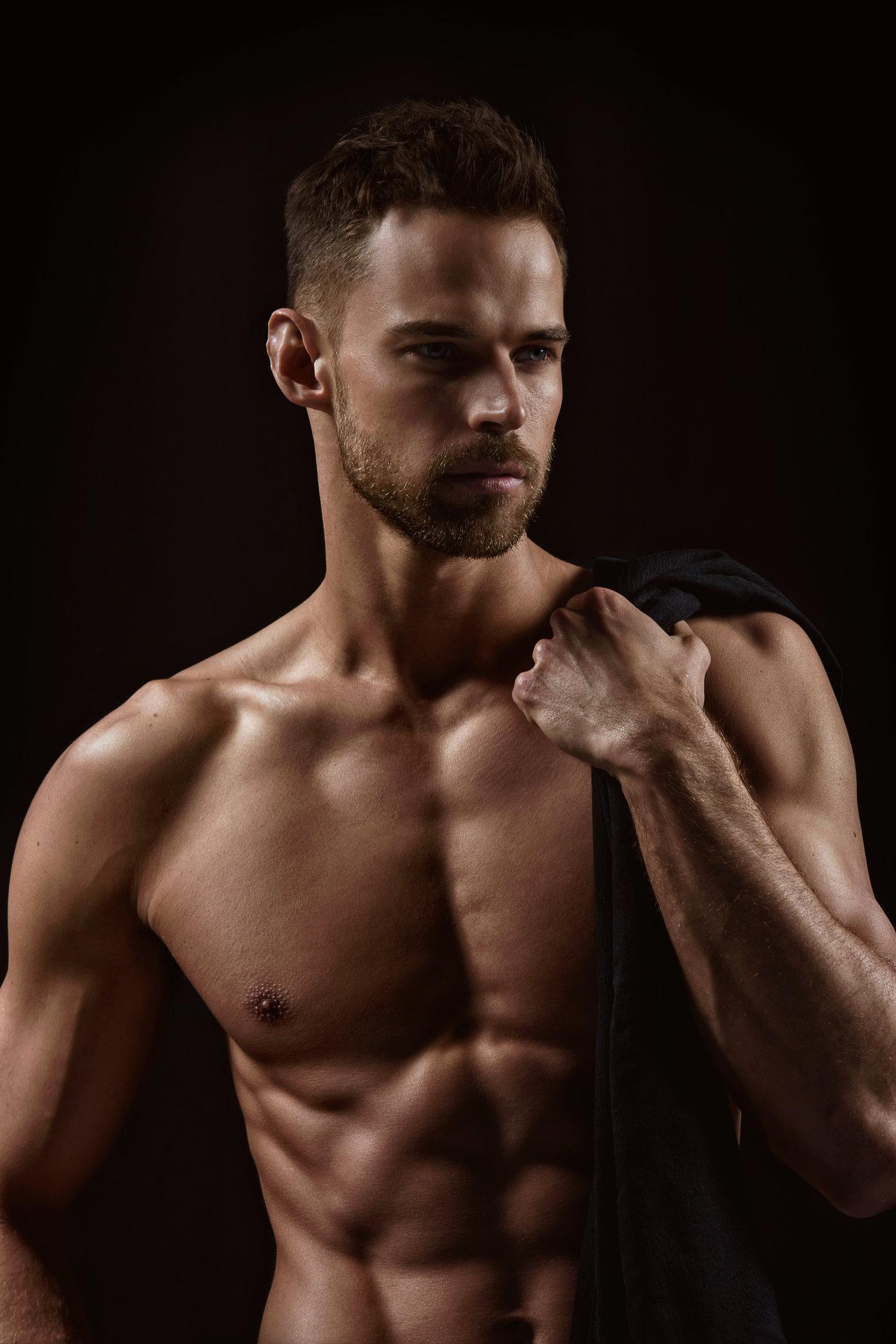 Adon Exclusive: Model Thom Panto By Scott Cushman