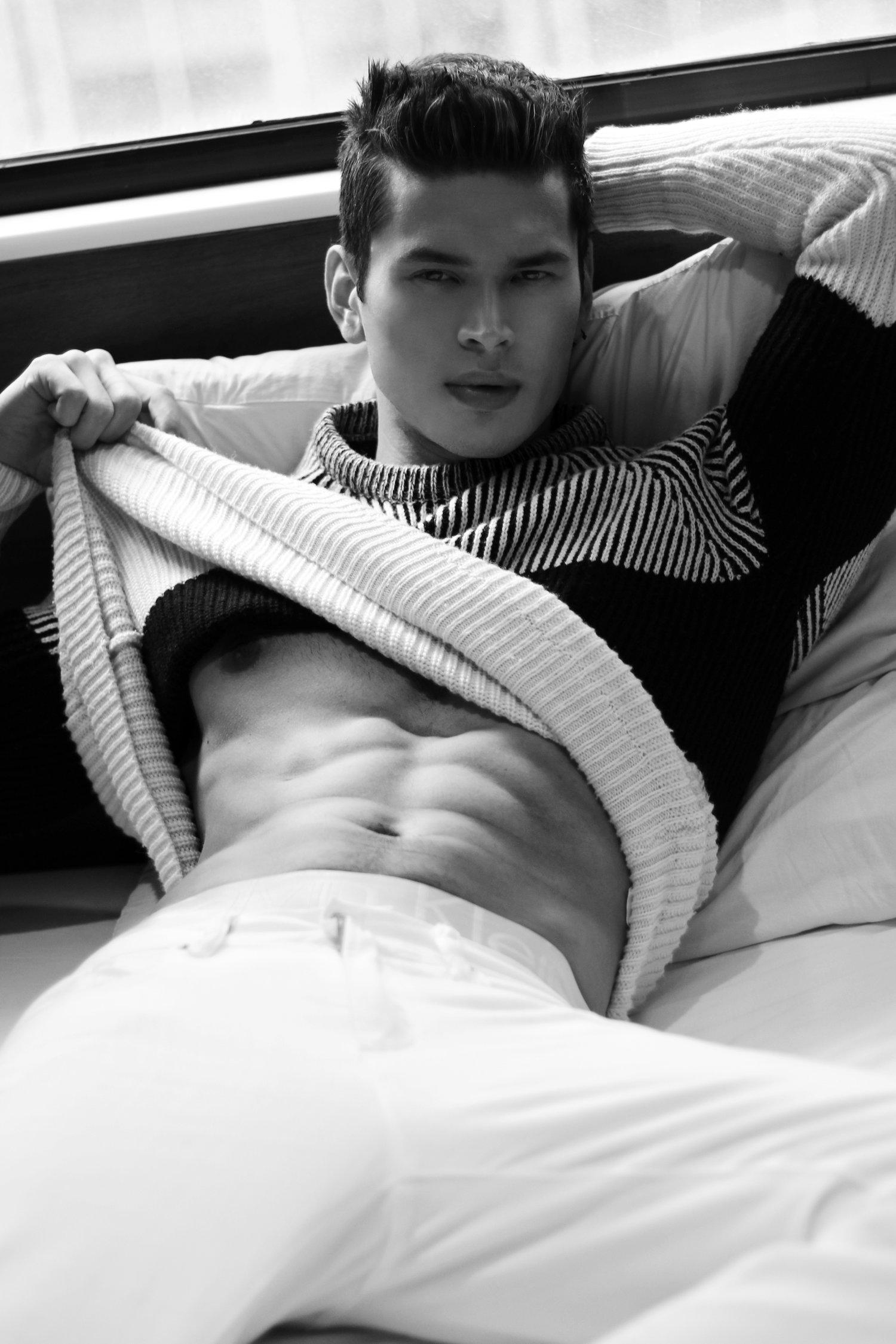 Adon Exclusive: Model Jeff Rodriguez By Paul dela Merced