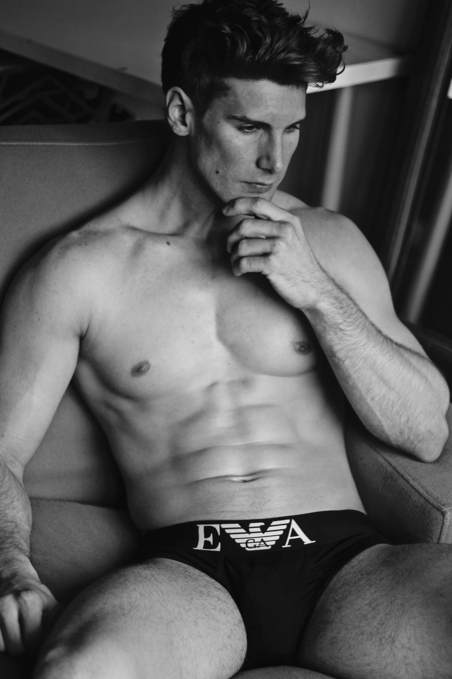 Adon Exclusive: Model Ross Cook By Gaston McGary
